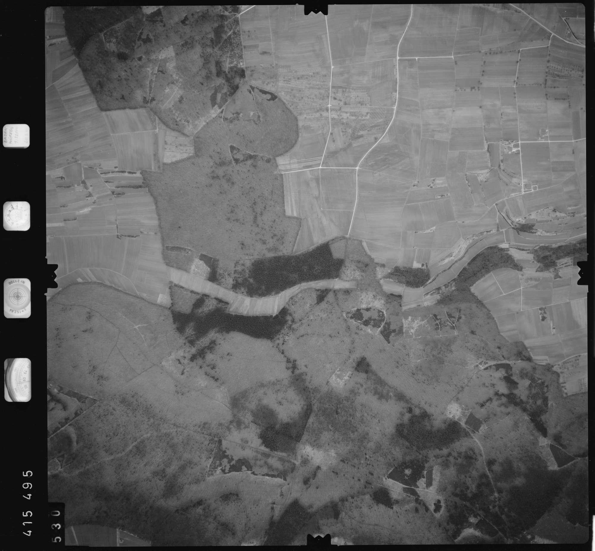 Luftbild: Film 2 Bildnr. 530, Bild 1