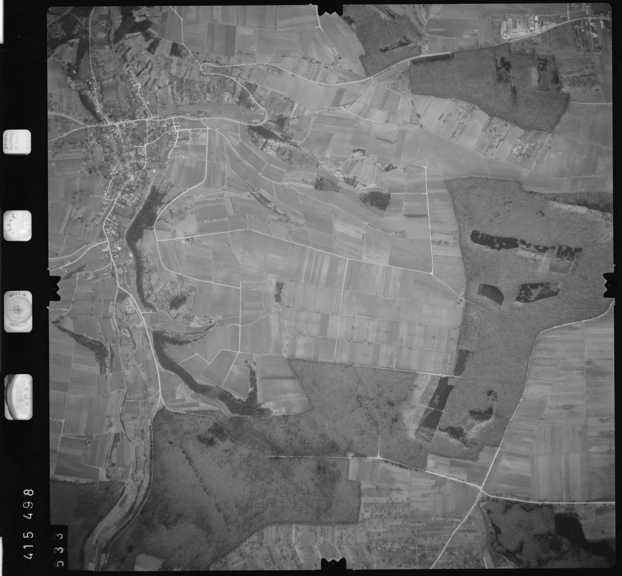 Luftbild: Film 2 Bildnr. 533, Bild 1