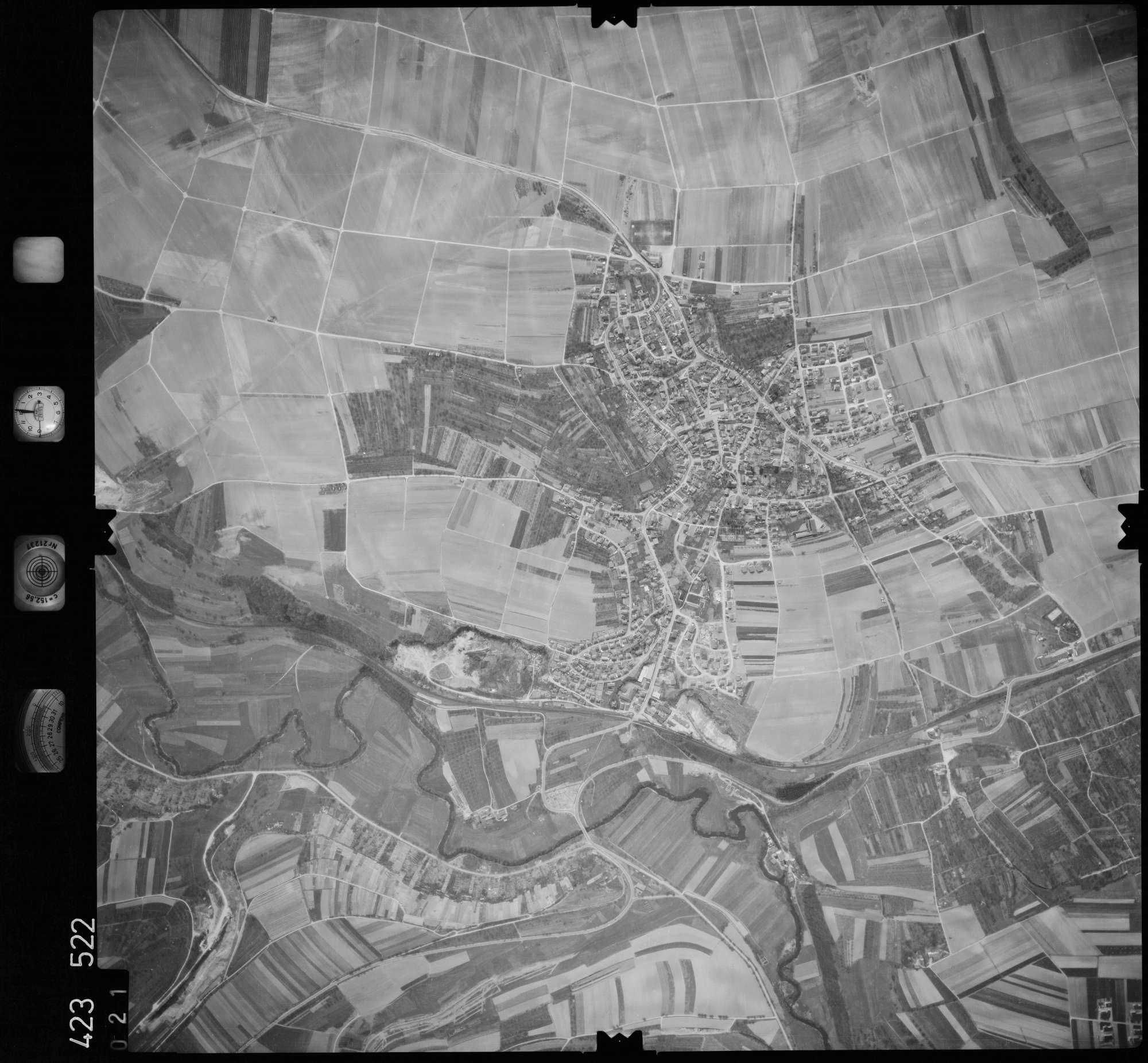 Luftbild: Film 1 Bildnr. 21, Bild 1