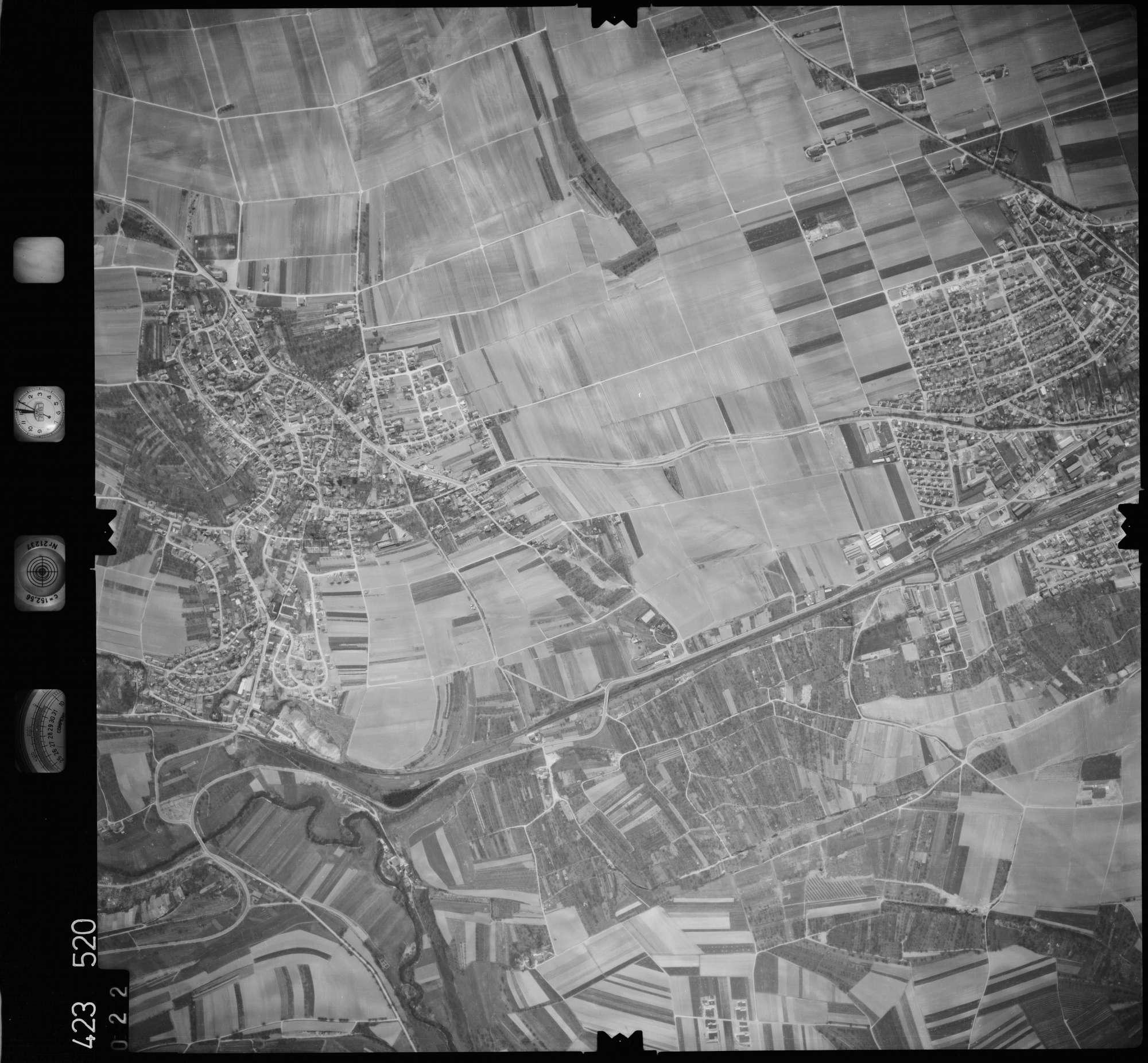 Luftbild: Film 1 Bildnr. 22, Bild 1