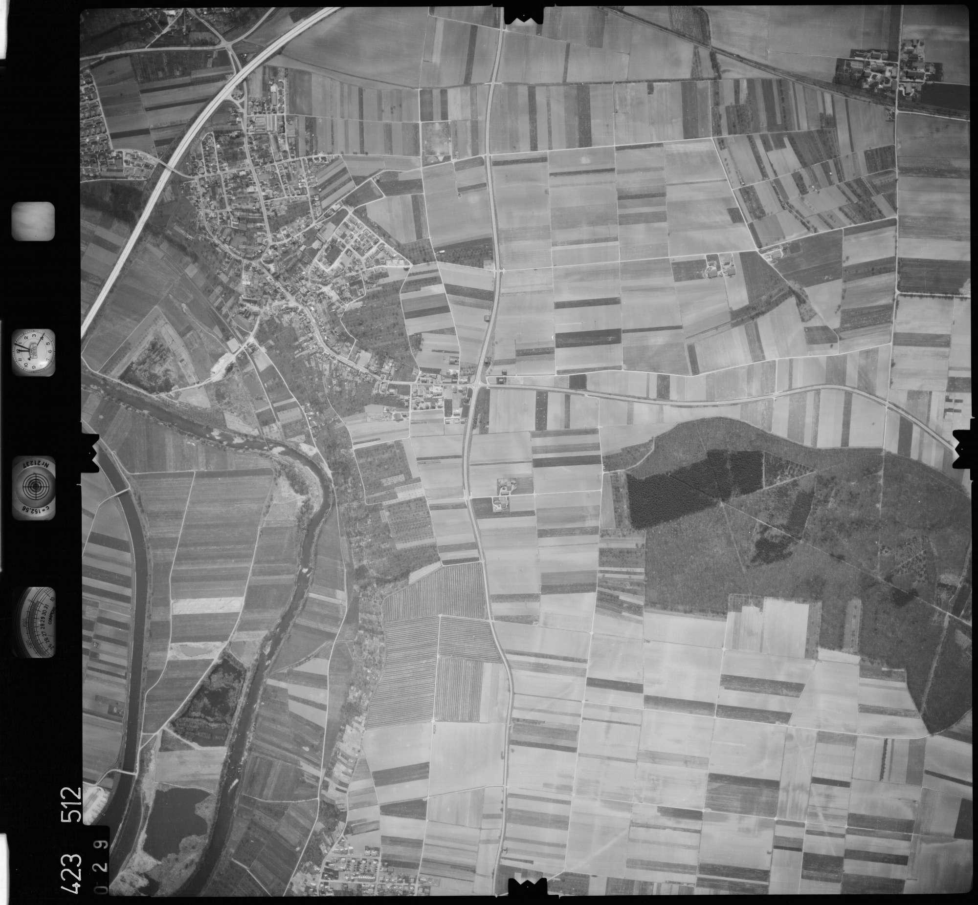 Luftbild: Film 1 Bildnr. 29, Bild 1