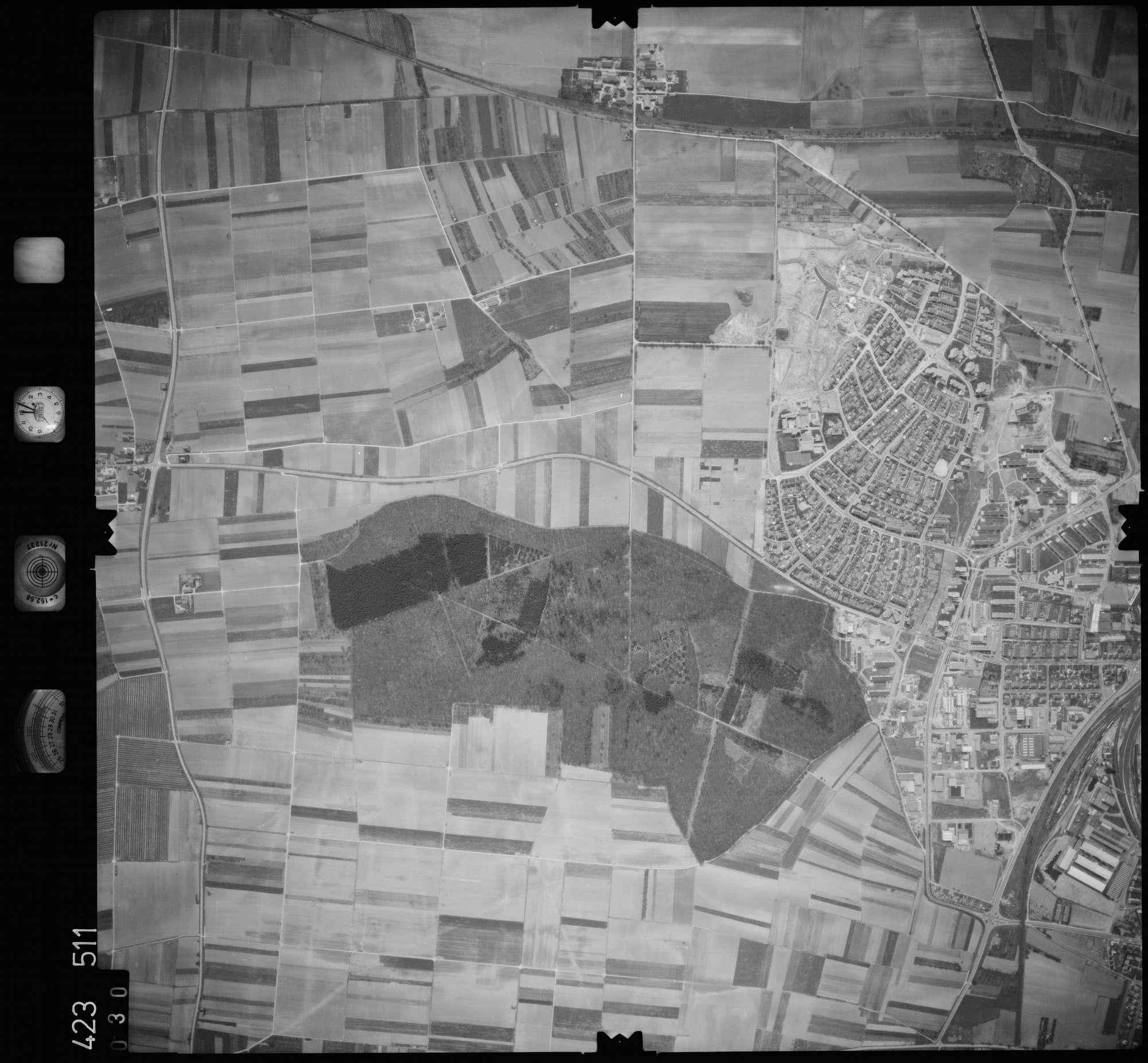 Luftbild: Film 1 Bildnr. 30, Bild 1