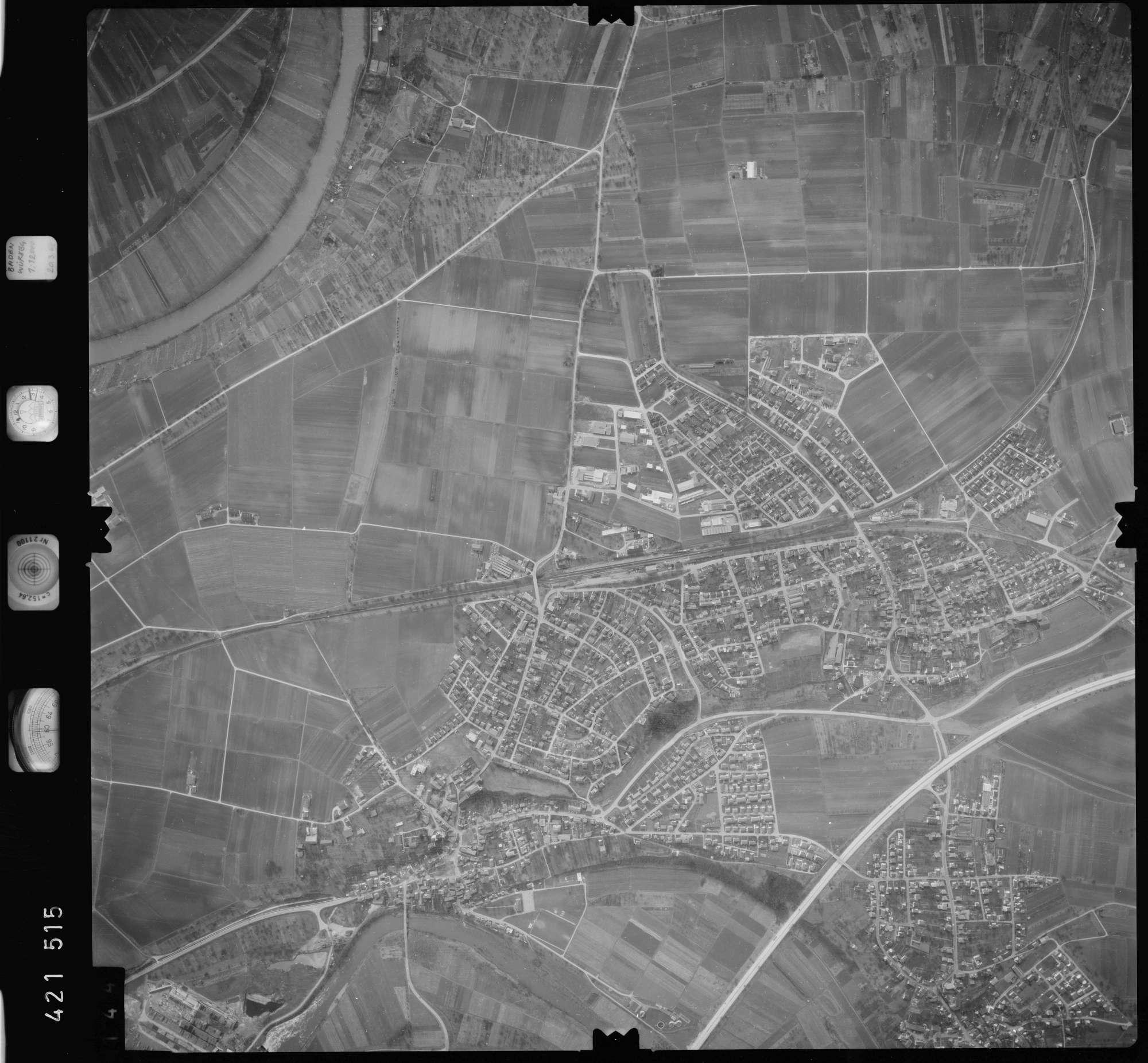 Luftbild: Film 1 Bildnr. 144, Bild 1