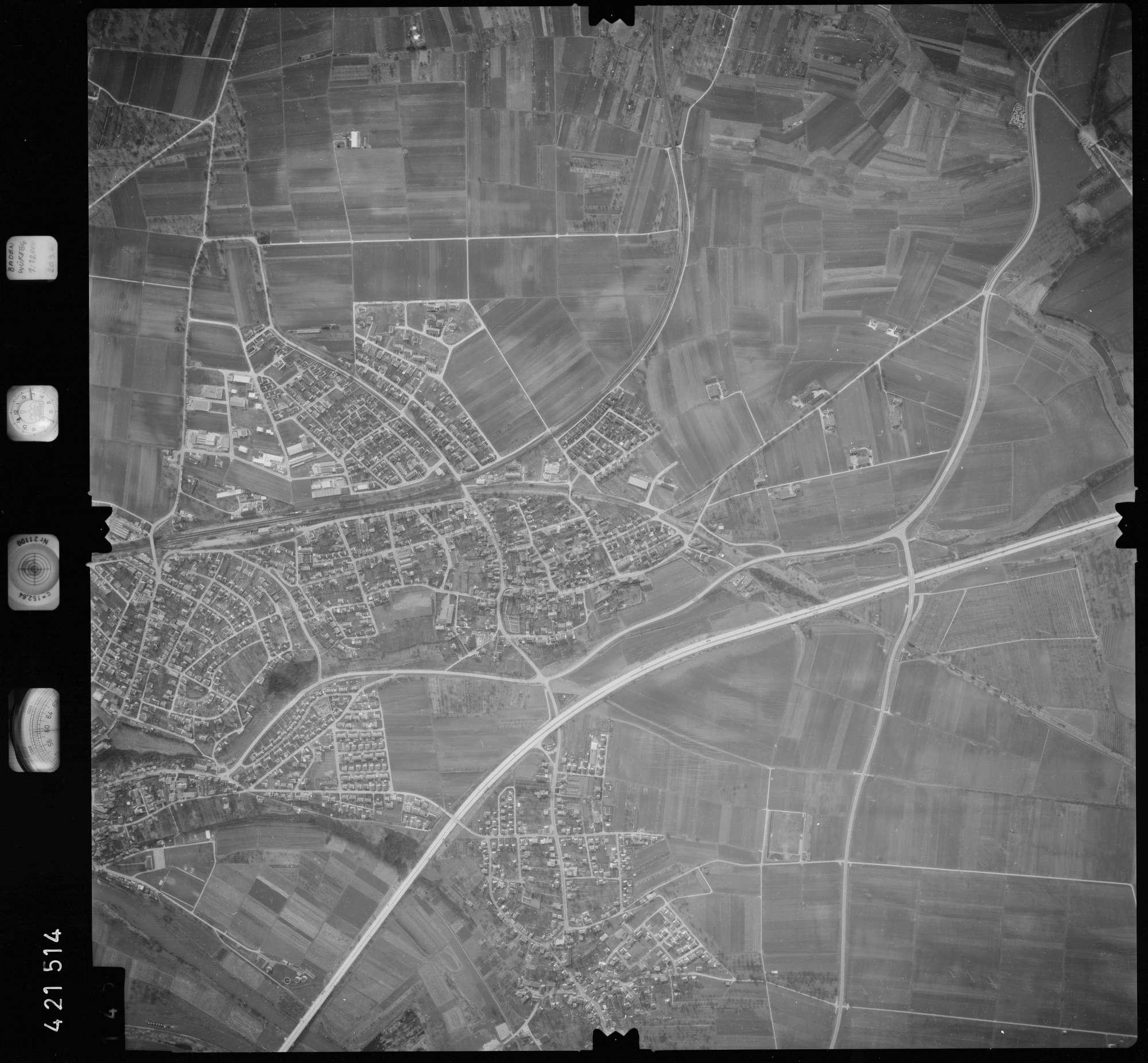 Luftbild: Film 1 Bildnr. 145, Bild 1