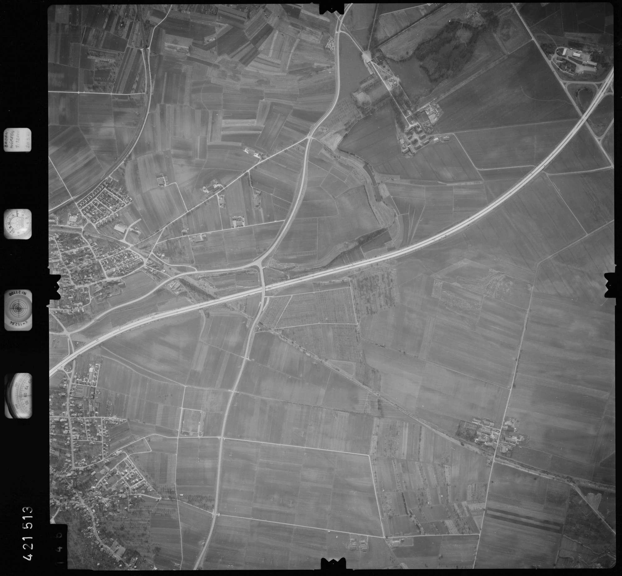 Luftbild: Film 1 Bildnr. 146, Bild 1