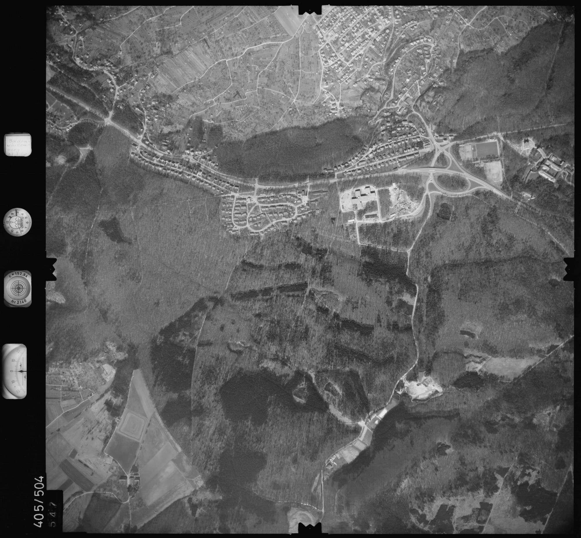 Luftbild: Film 10 Bildnr. 547, Bild 1