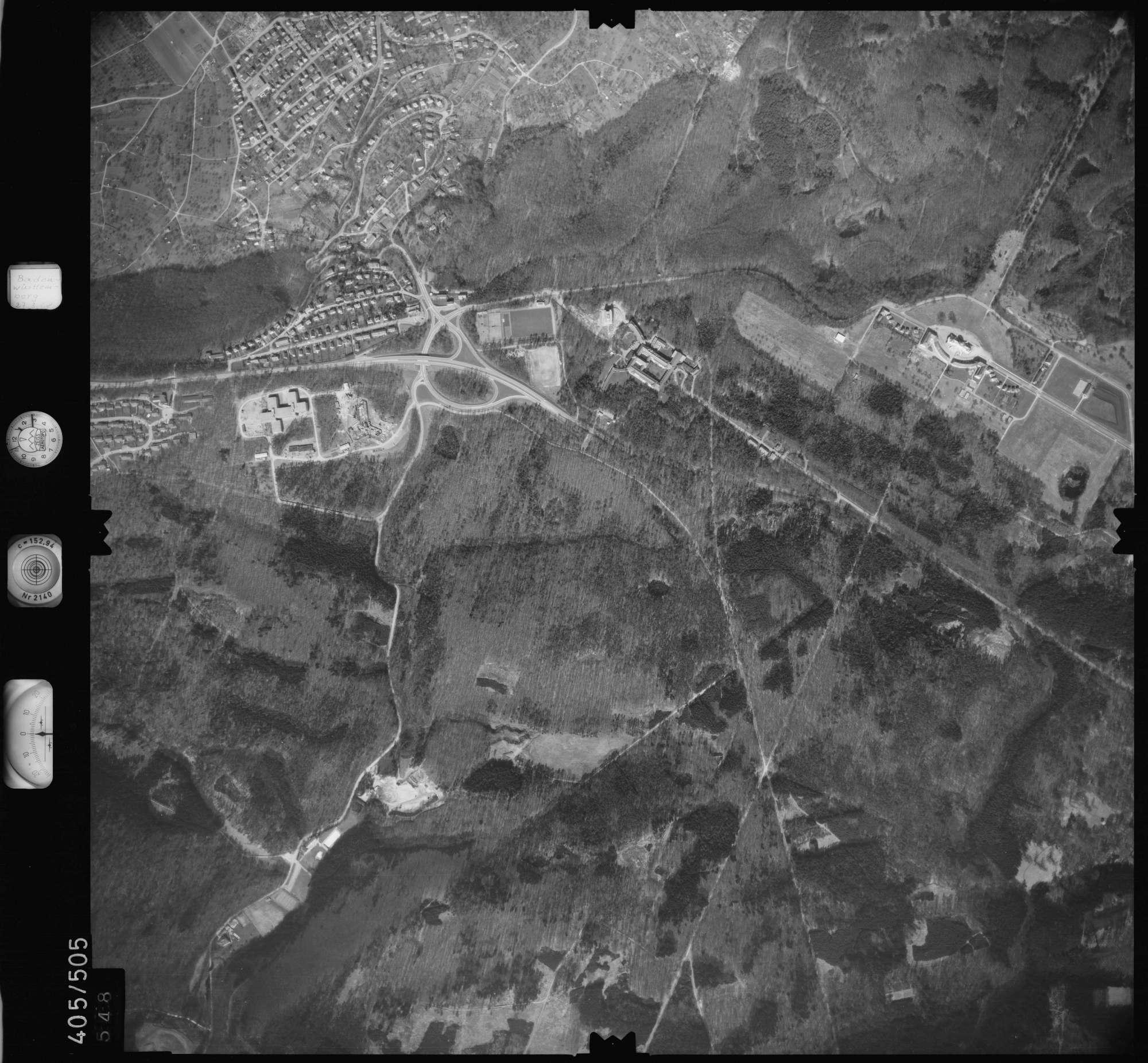 Luftbild: Film 10 Bildnr. 548, Bild 1
