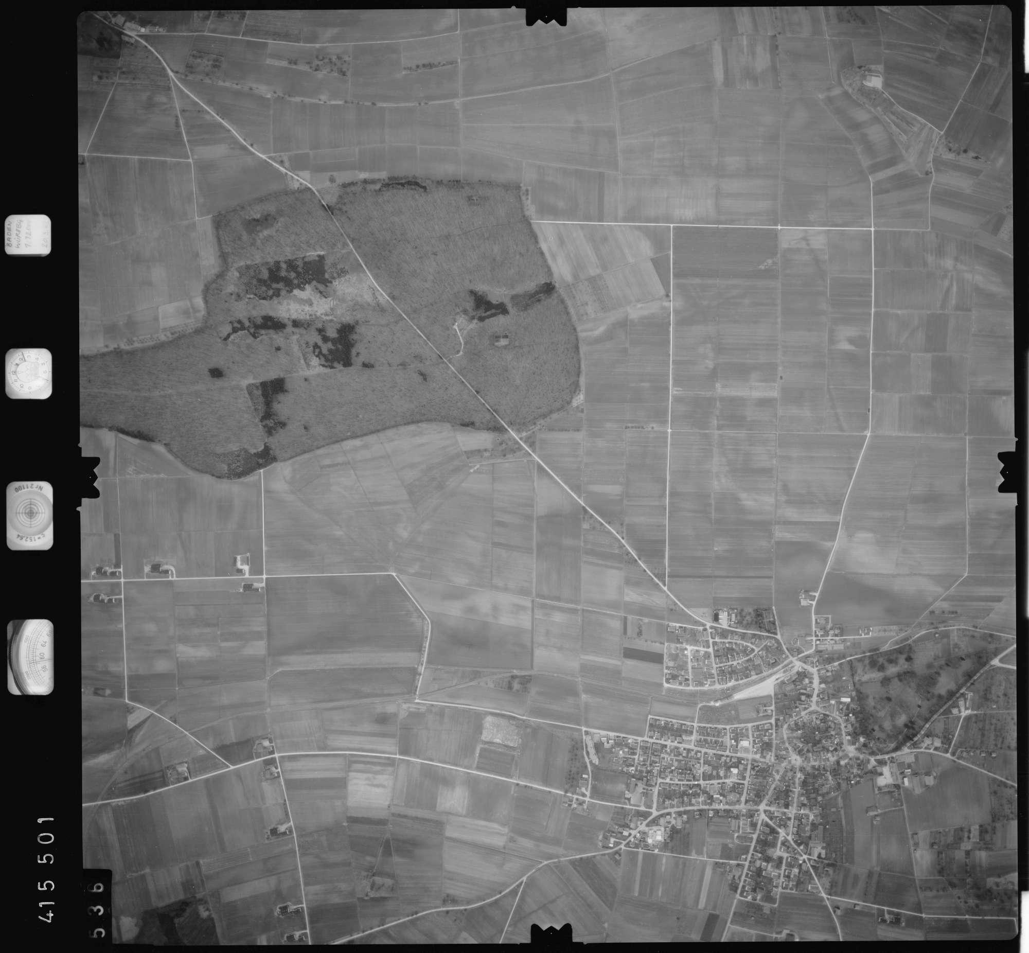 Luftbild: Film 2 Bildnr. 536, Bild 1