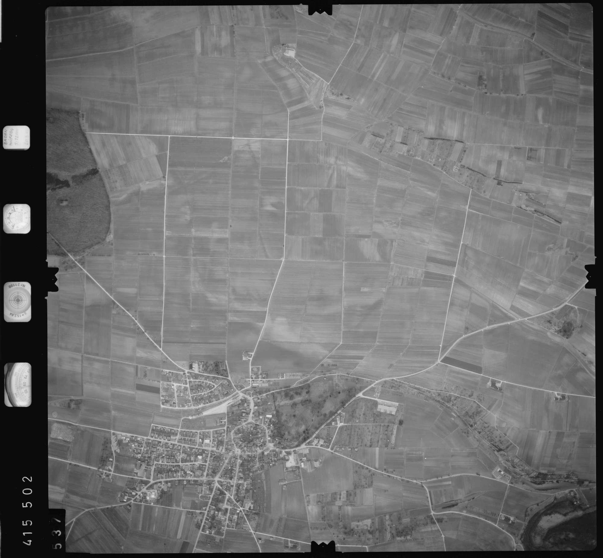 Luftbild: Film 2 Bildnr. 537, Bild 1