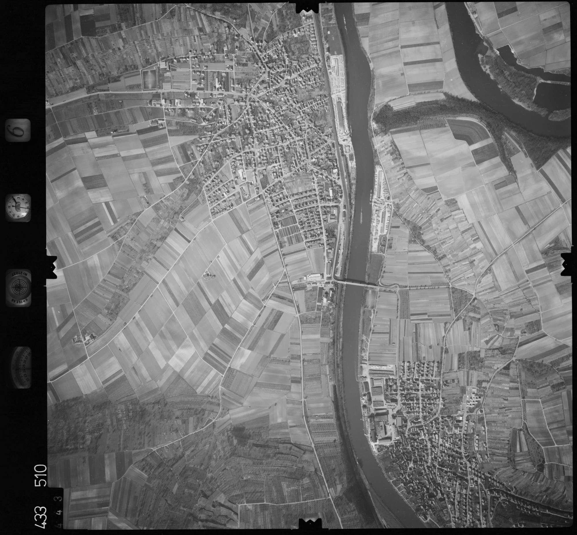 Luftbild: Film 6 Bildnr. 443, Bild 1