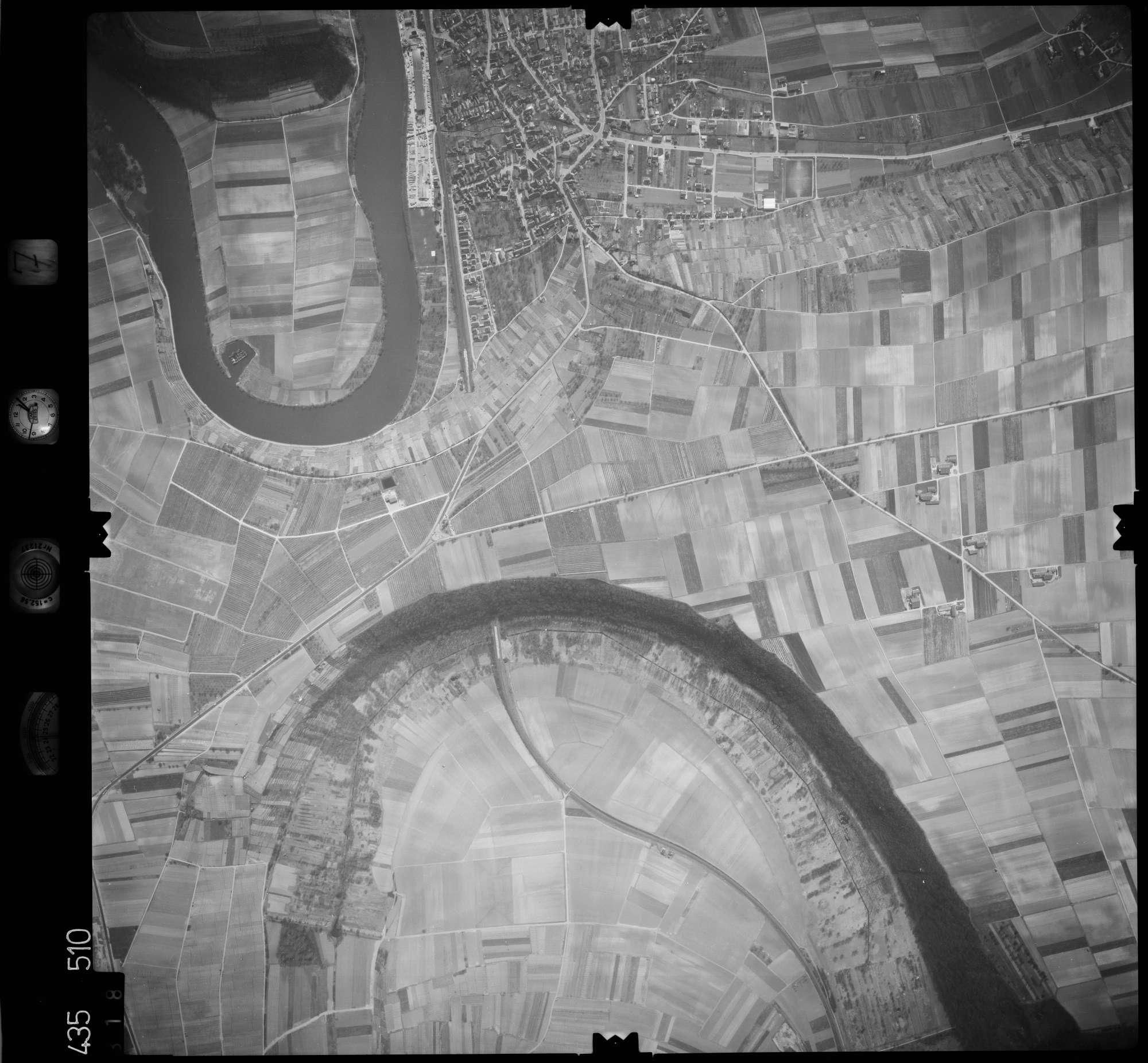 Luftbild: Film 7 Bildnr. 318, Bild 1