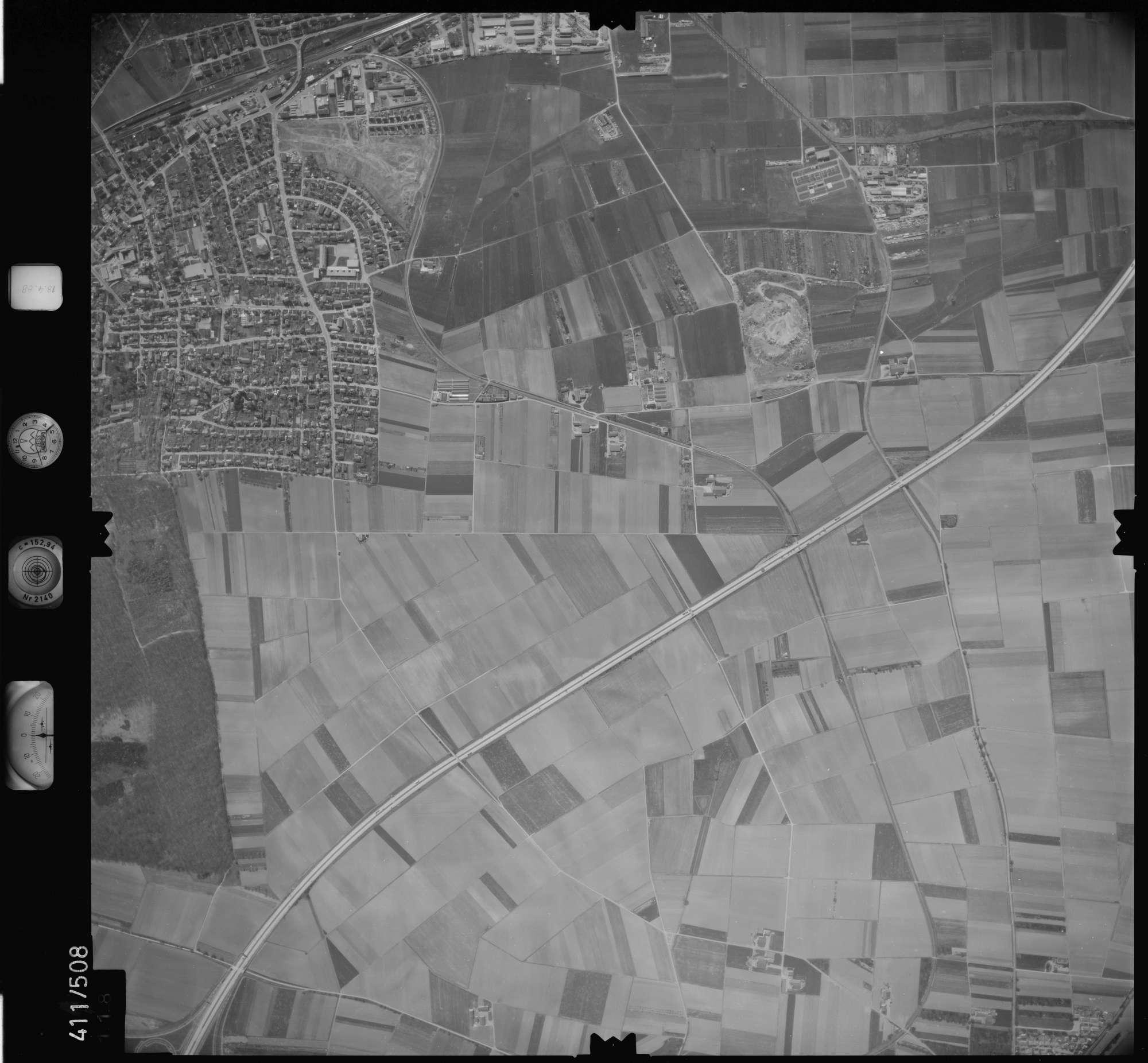Luftbild: Film 4 Bildnr. 118, Bild 1