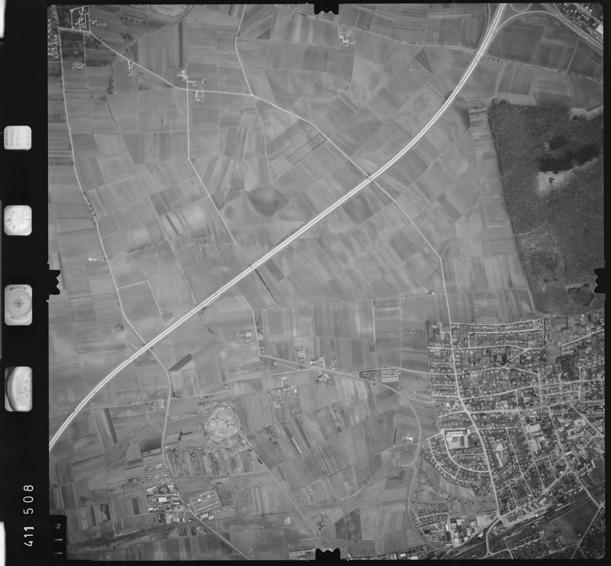 Luftbild: Film 5 Bildnr. 114, Bild 1