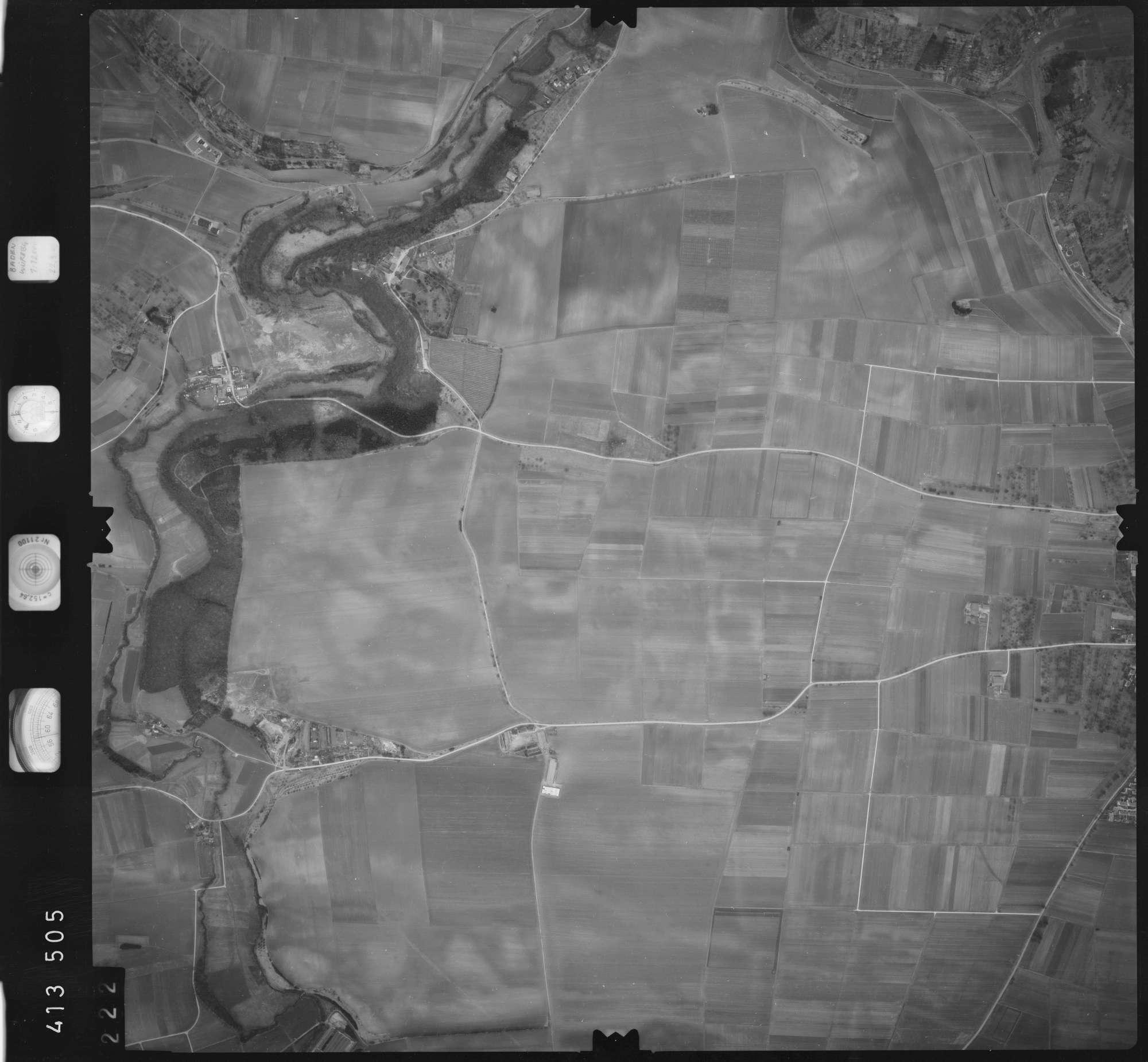Luftbild: Film 5 Bildnr. 222, Bild 1