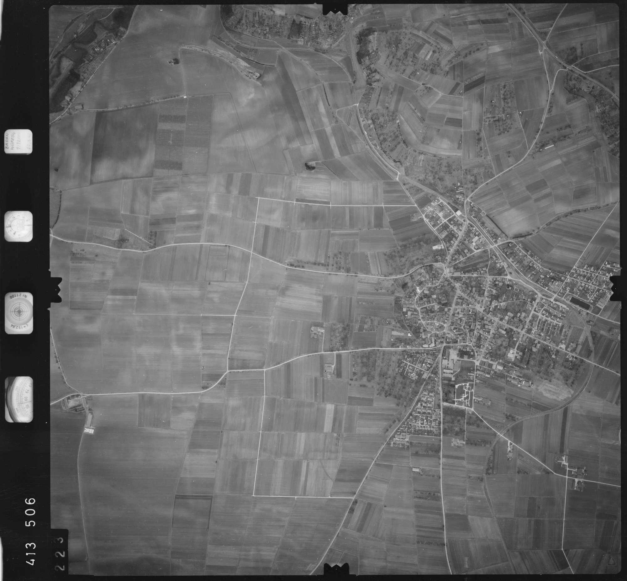 Luftbild: Film 5 Bildnr. 223, Bild 1