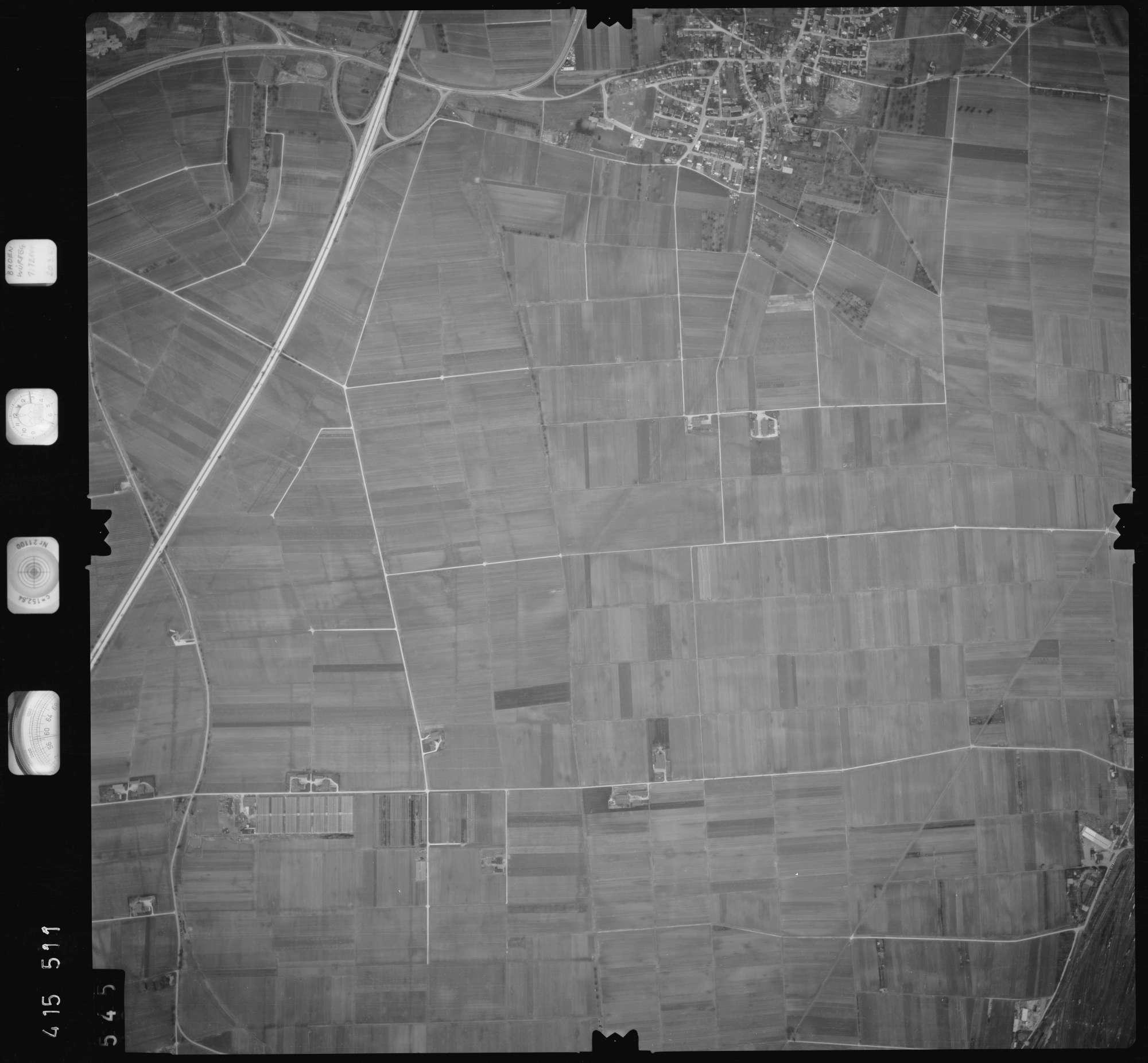 Luftbild: Film 2 Bildnr. 545, Bild 1