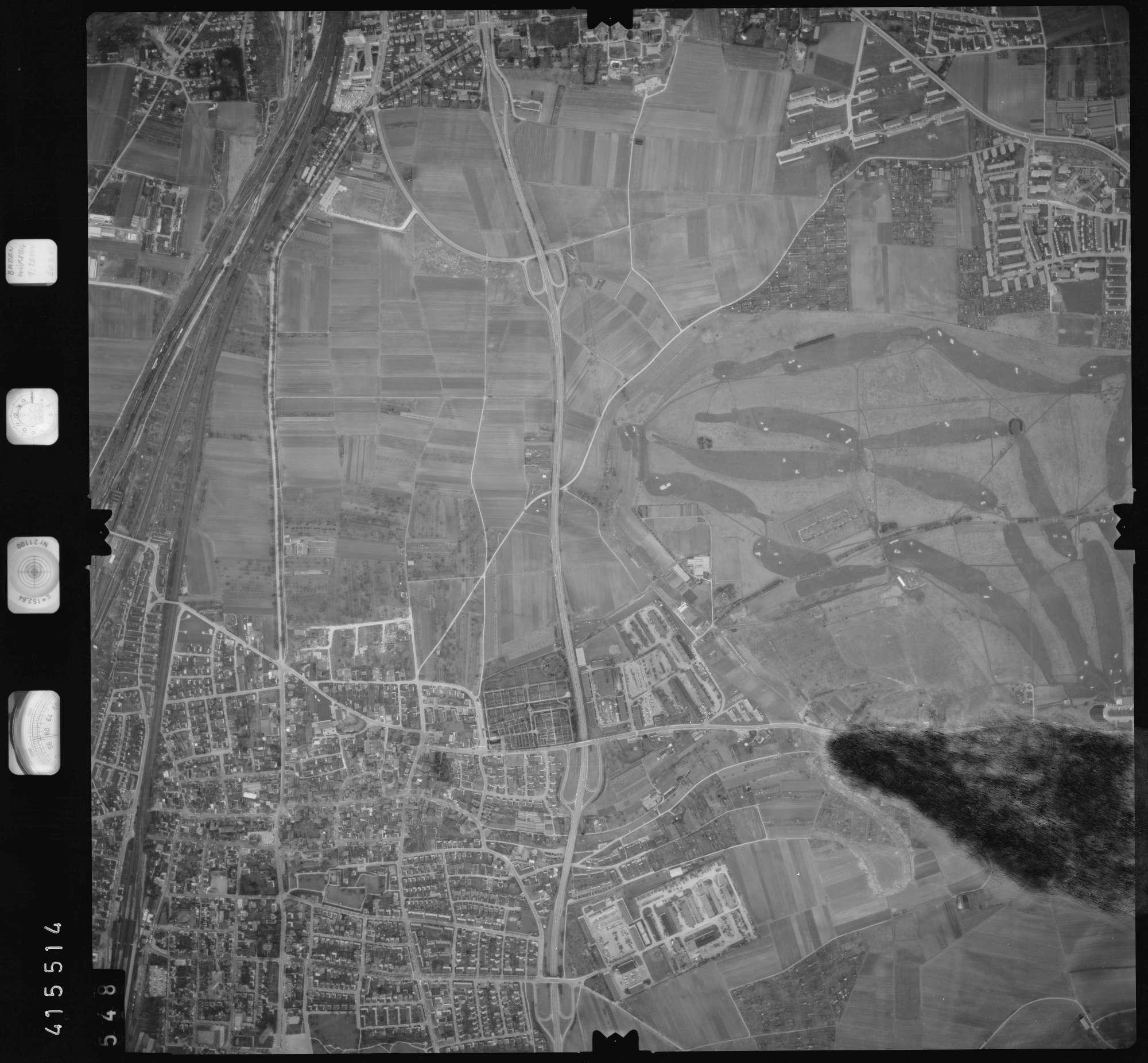 Luftbild: Film 2 Bildnr. 548, Bild 1