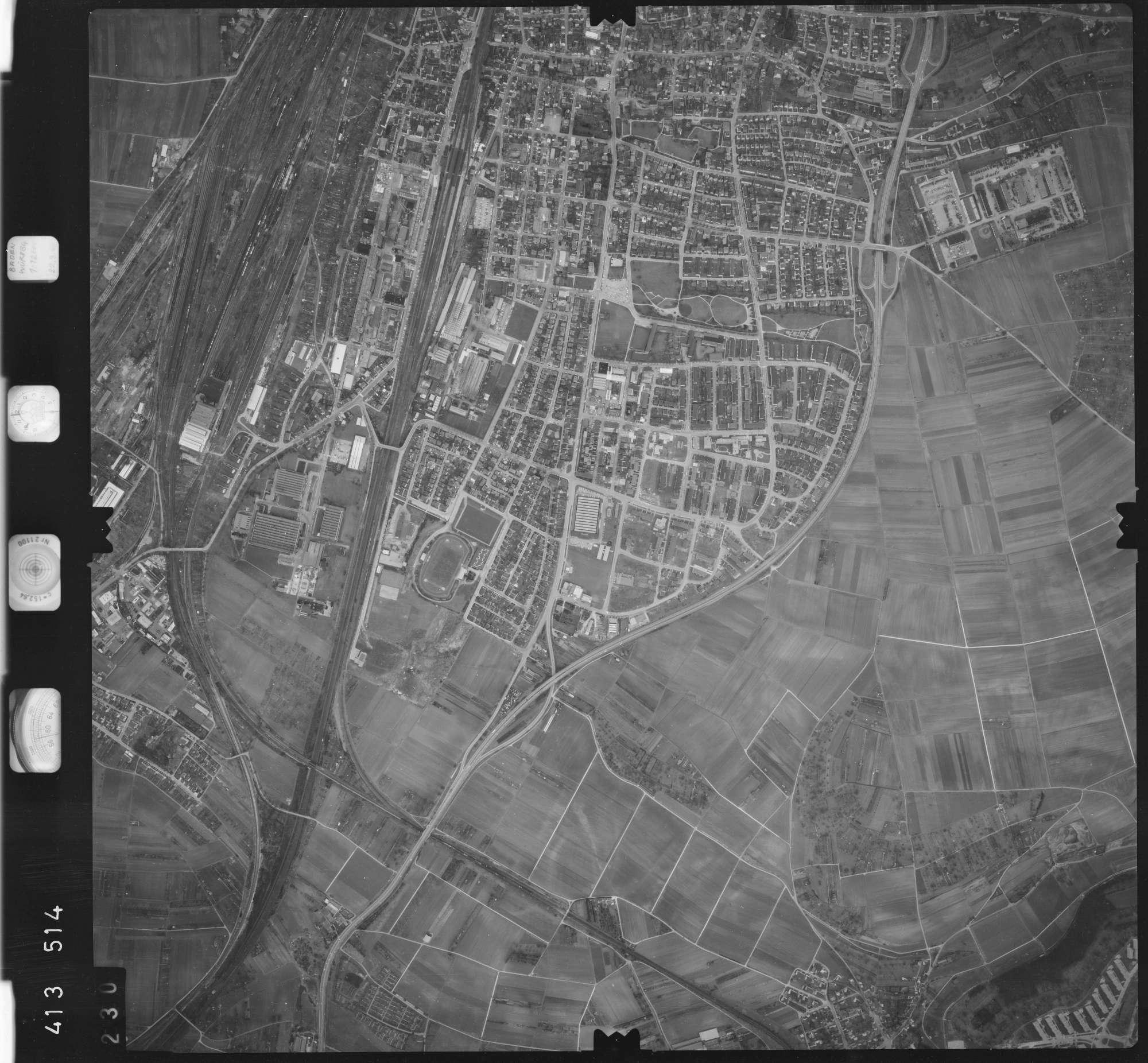Luftbild: Film 5 Bildnr. 230, Bild 1