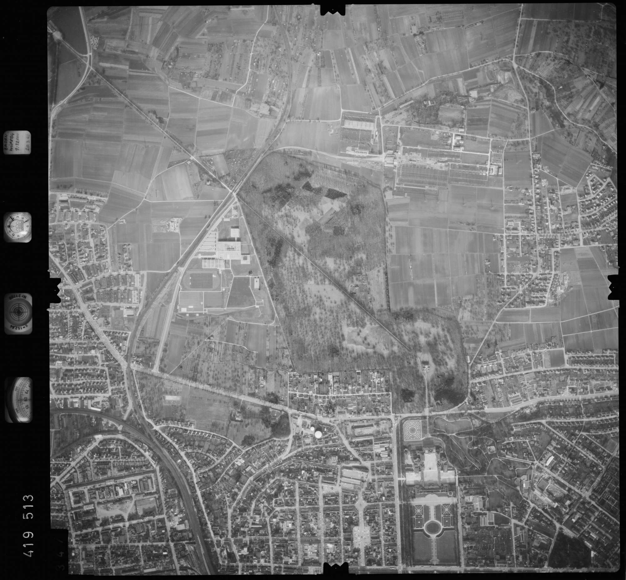 Luftbild: Film 2 Bildnr. 347, Bild 1