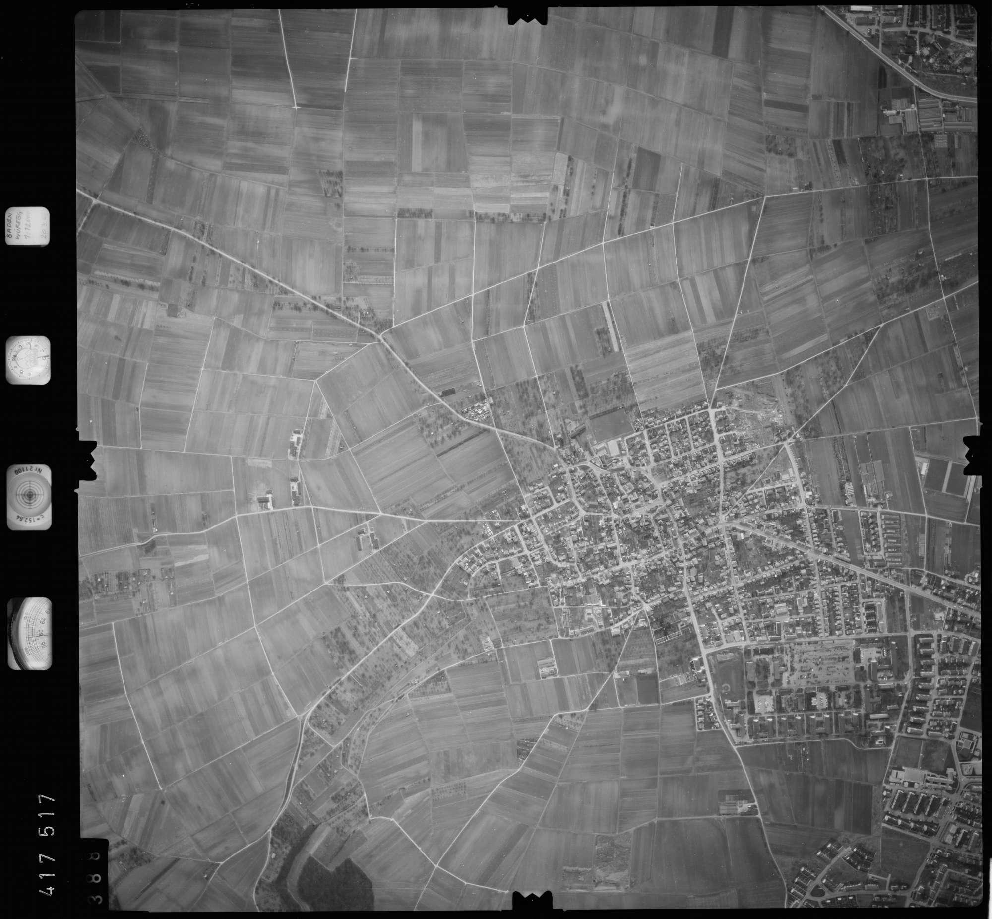 Luftbild: Film 2 Bildnr. 388, Bild 1