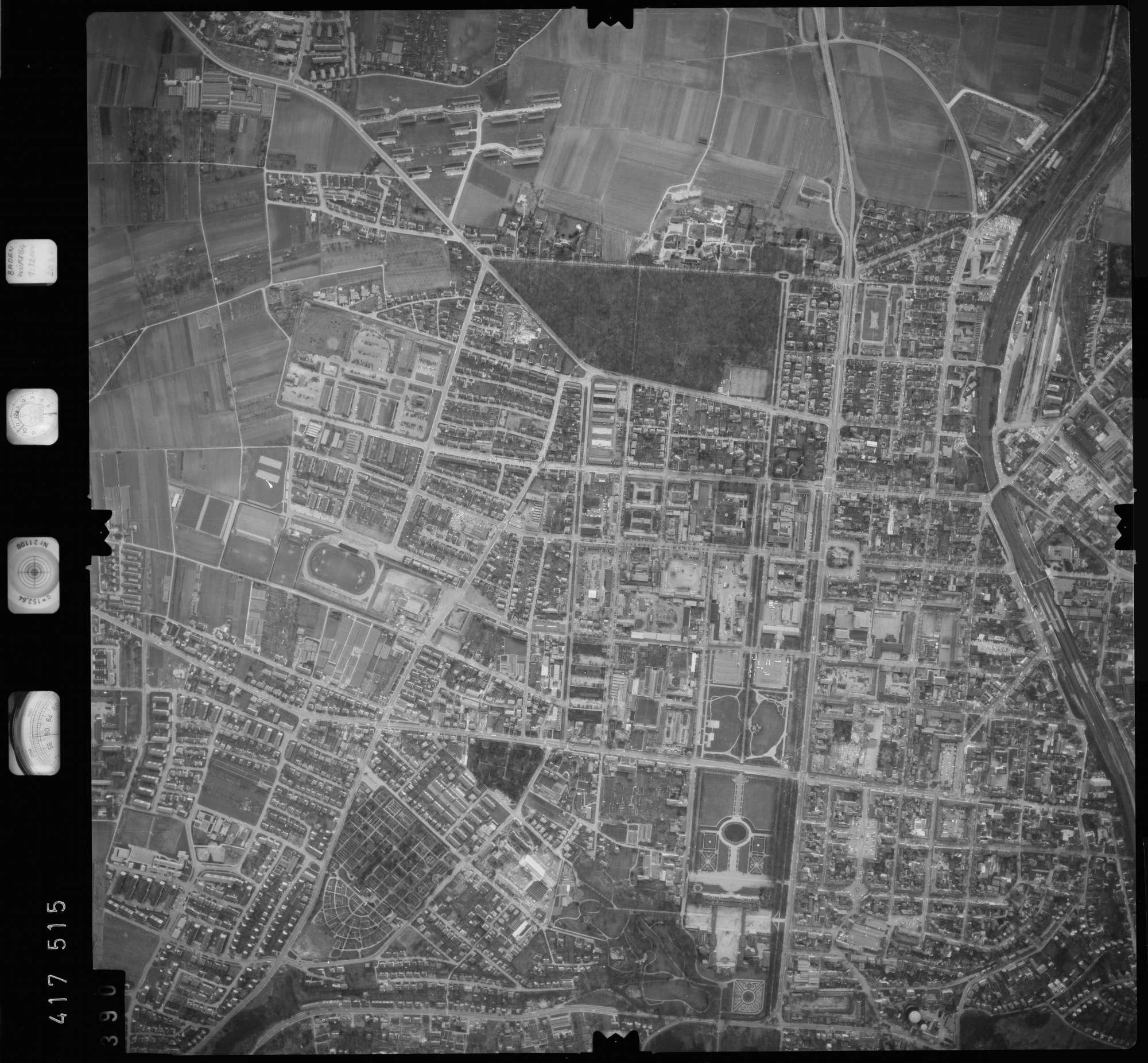 Luftbild: Film 2 Bildnr. 390, Bild 1