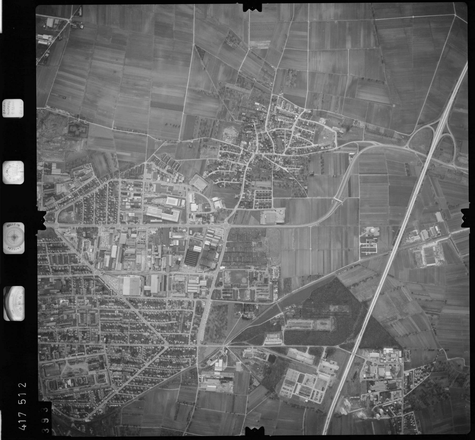Luftbild: Film 2 Bildnr. 393, Bild 1