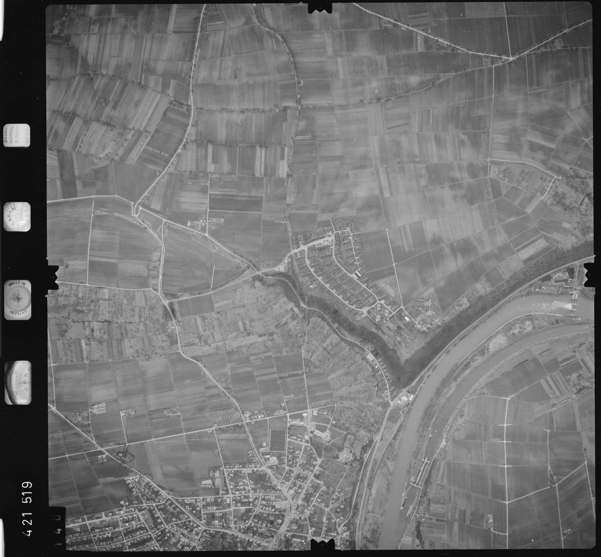 Luftbild: Film 1 Bildnr. 140, Bild 1