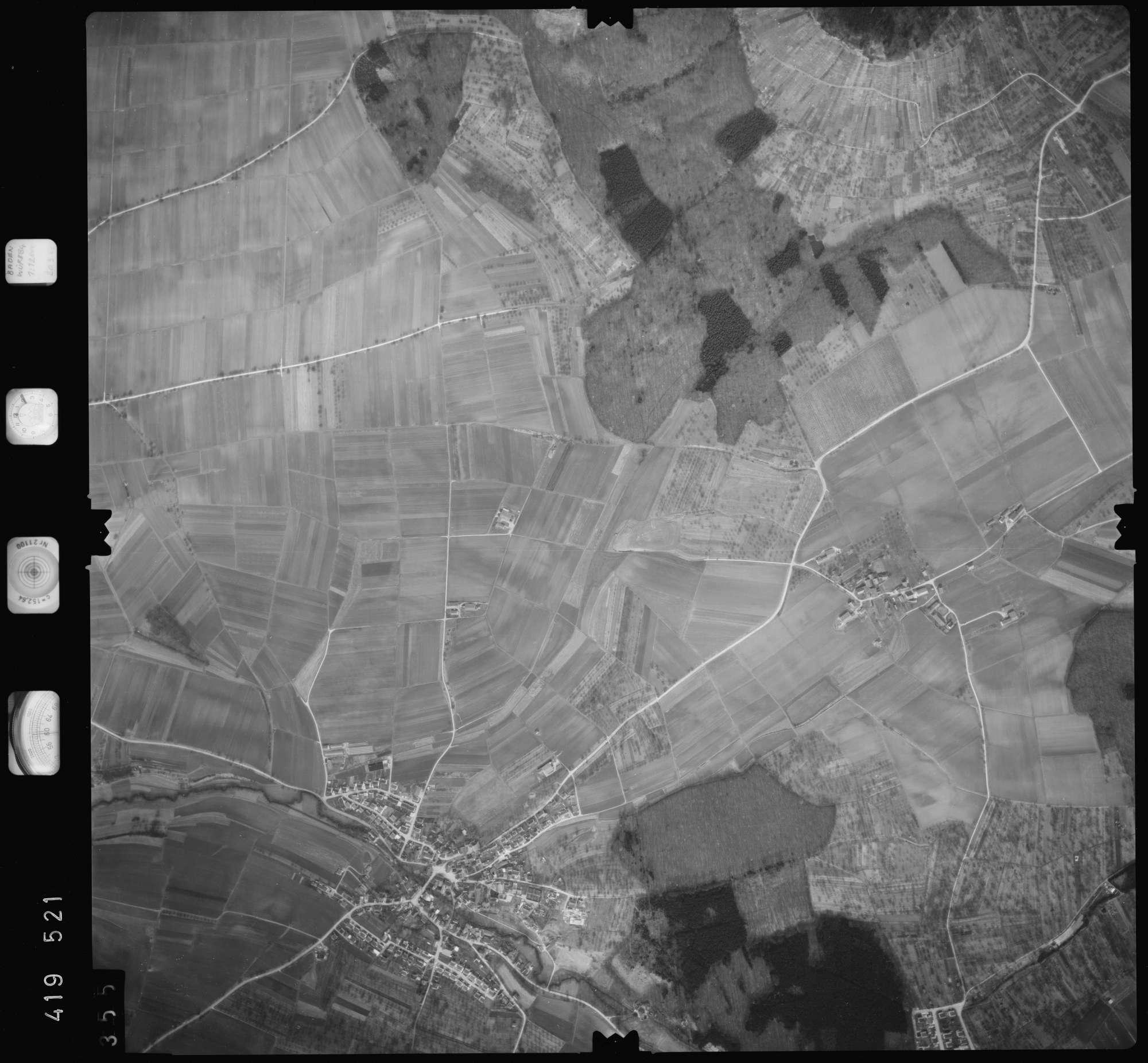 Luftbild: Film 2 Bildnr. 355, Bild 1