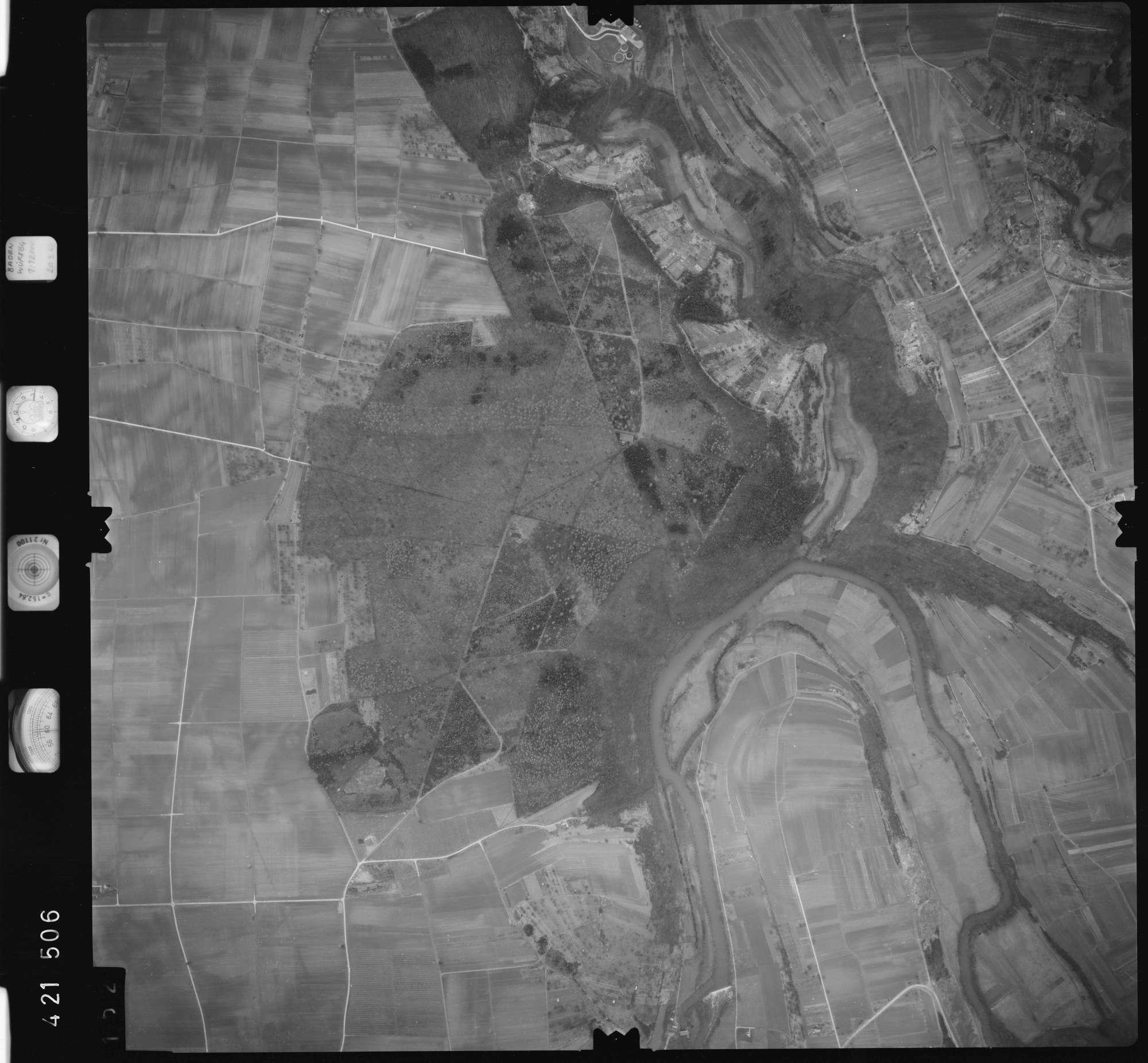 Luftbild: Film 1 Bildnr. 152, Bild 1