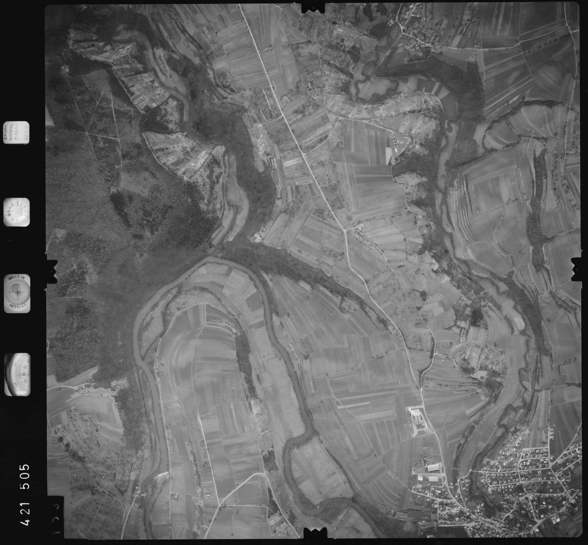 Luftbild: Film 1 Bildnr. 153, Bild 1