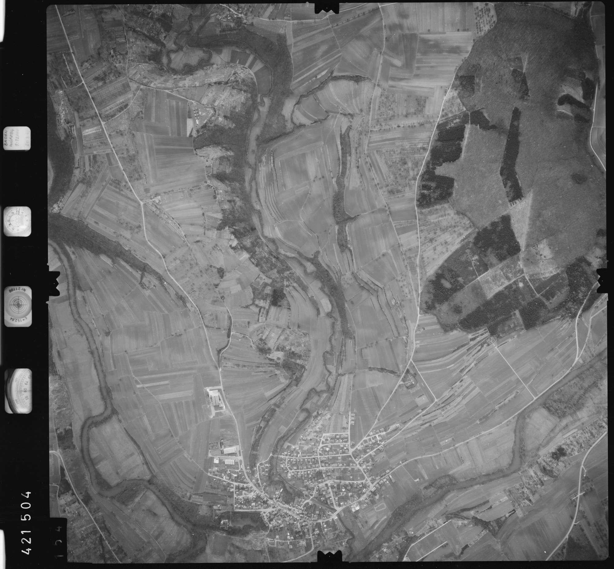 Luftbild: Film 1 Bildnr. 154, Bild 1