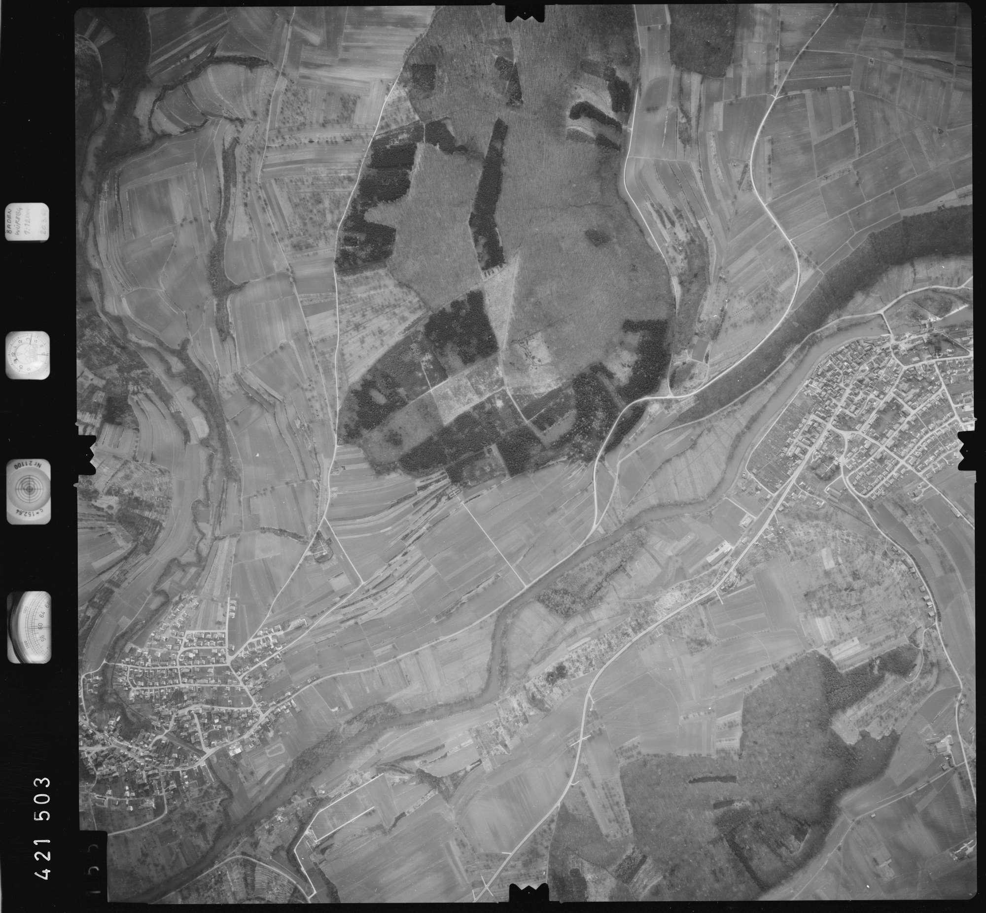 Luftbild: Film 1 Bildnr. 155, Bild 1