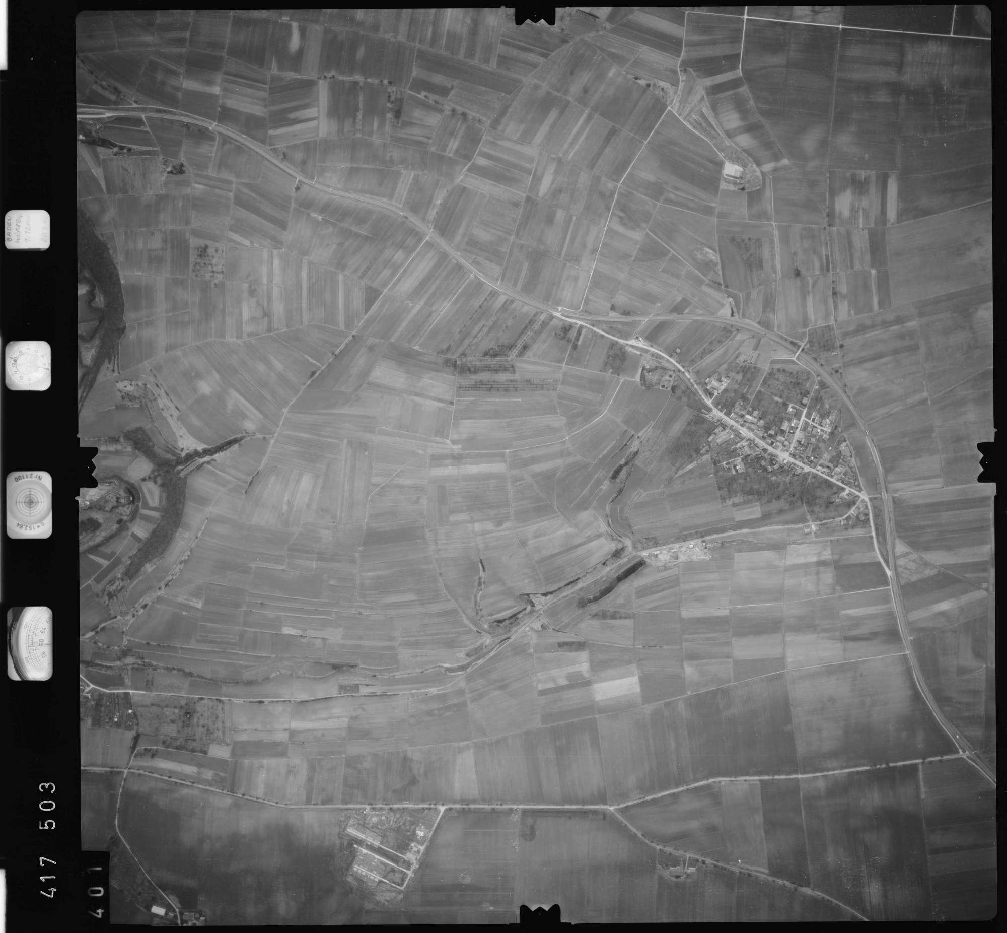 Luftbild: Film 2 Bildnr. 401, Bild 1