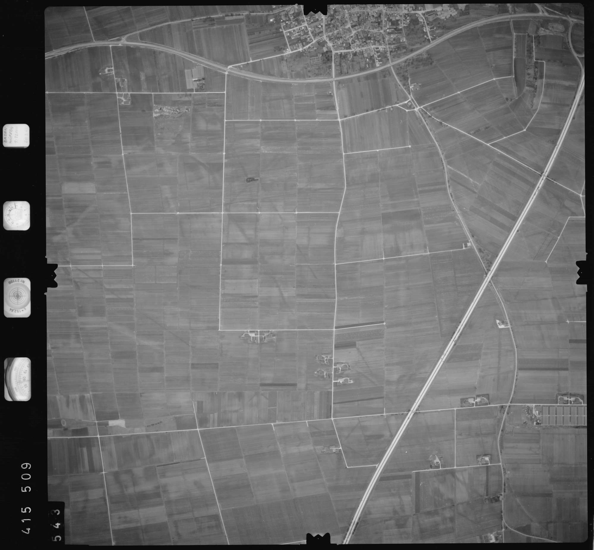 Luftbild: Film 2 Bildnr. 543, Bild 1