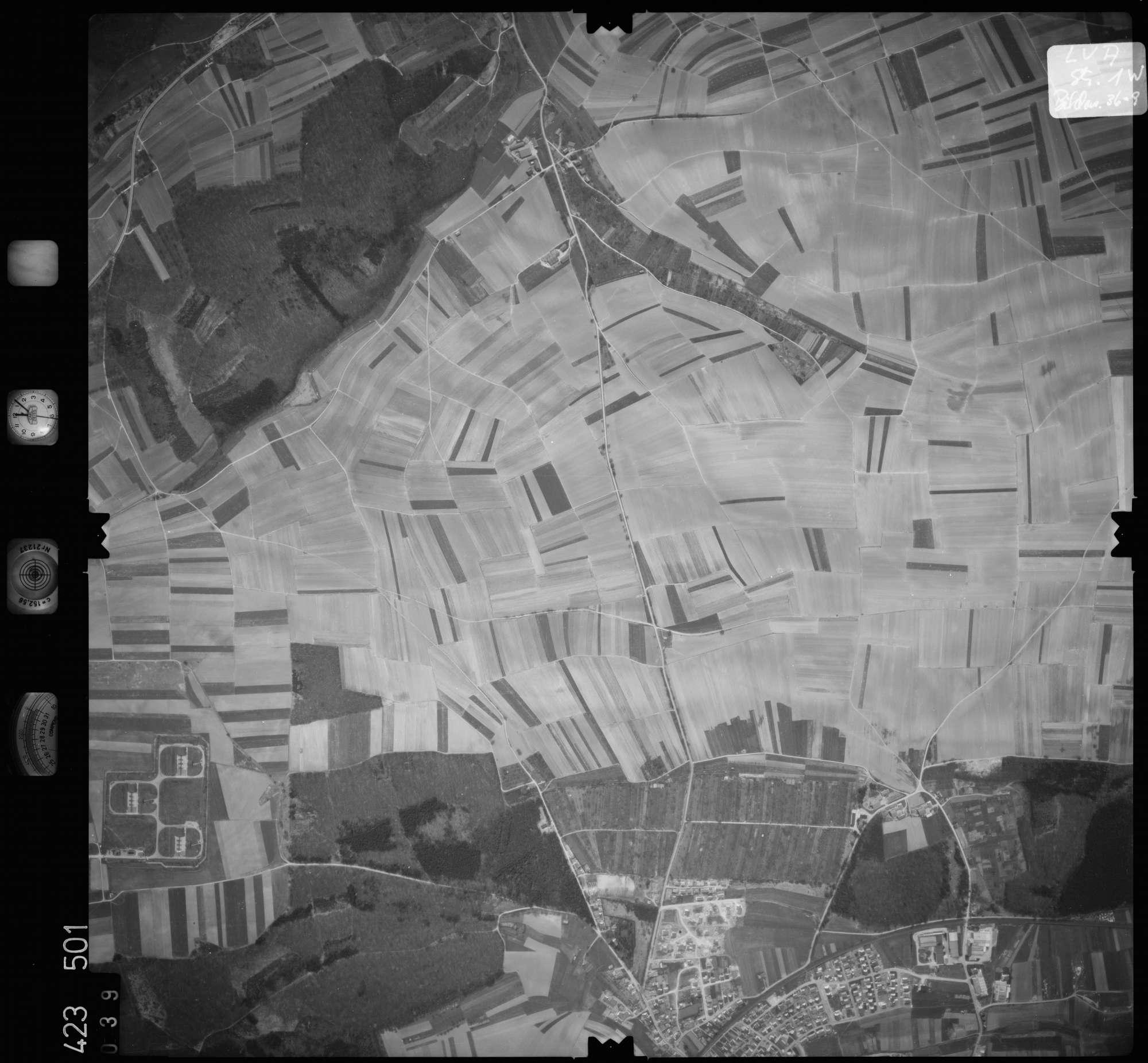 Luftbild: Film 1 Bildnr. 39, Bild 1