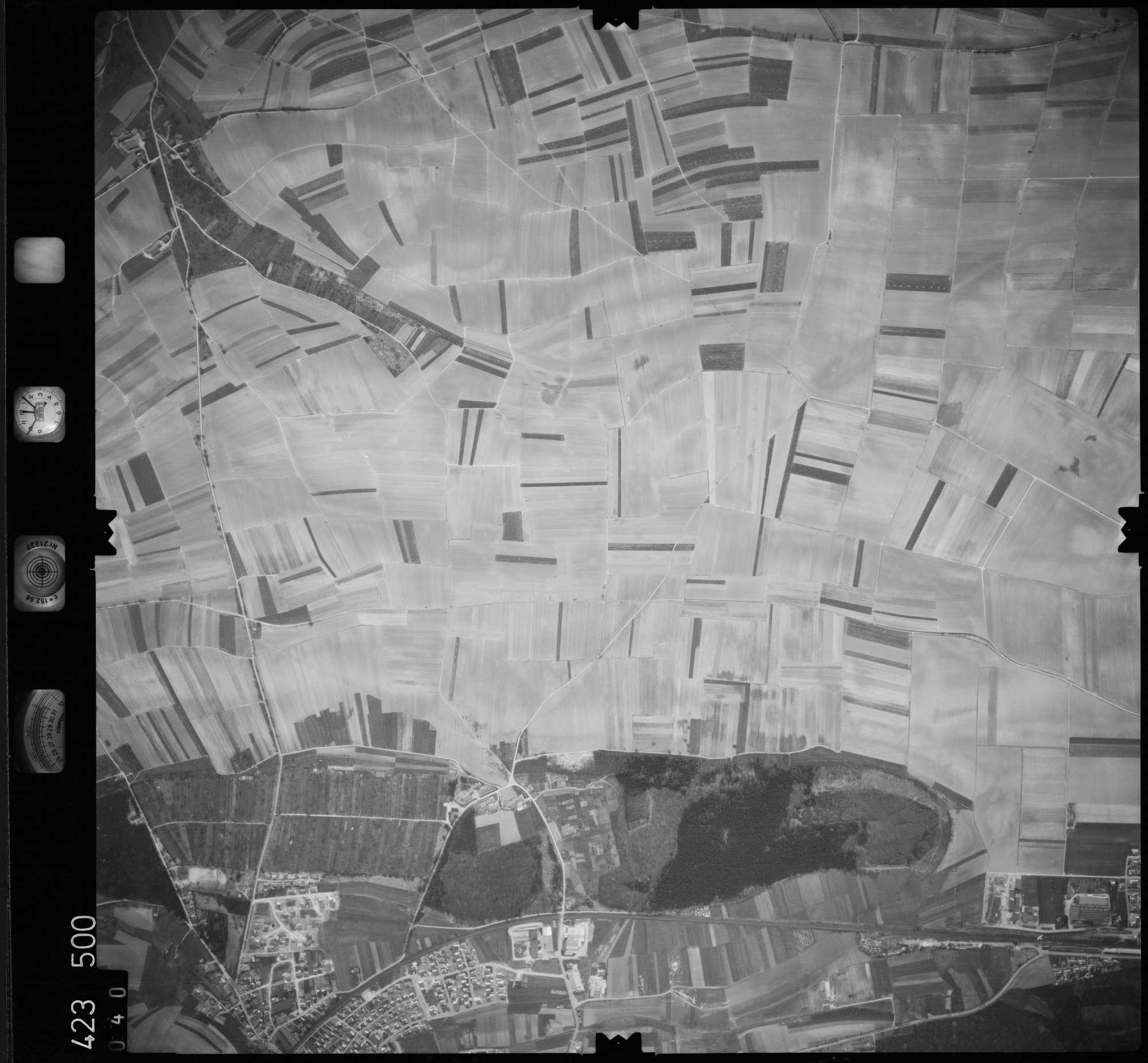Luftbild: Film 1 Bildnr. 40, Bild 1
