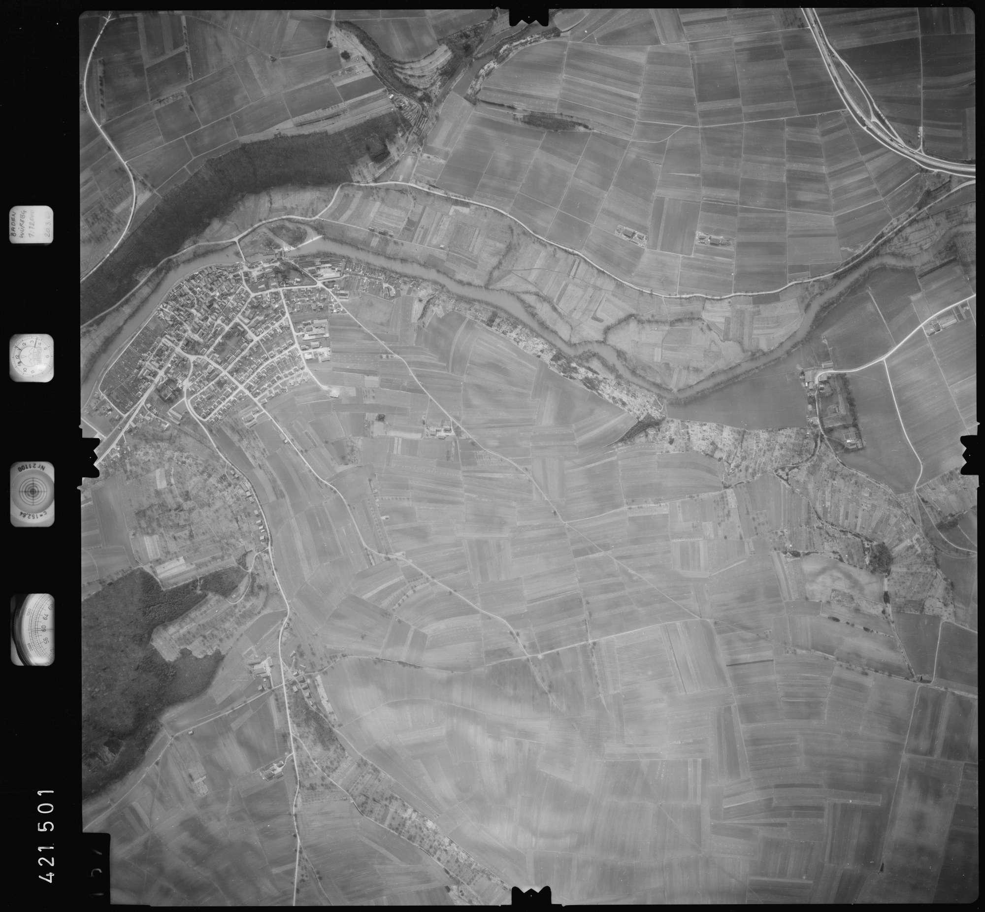 Luftbild: Film 1 Bildnr. 157, Bild 1