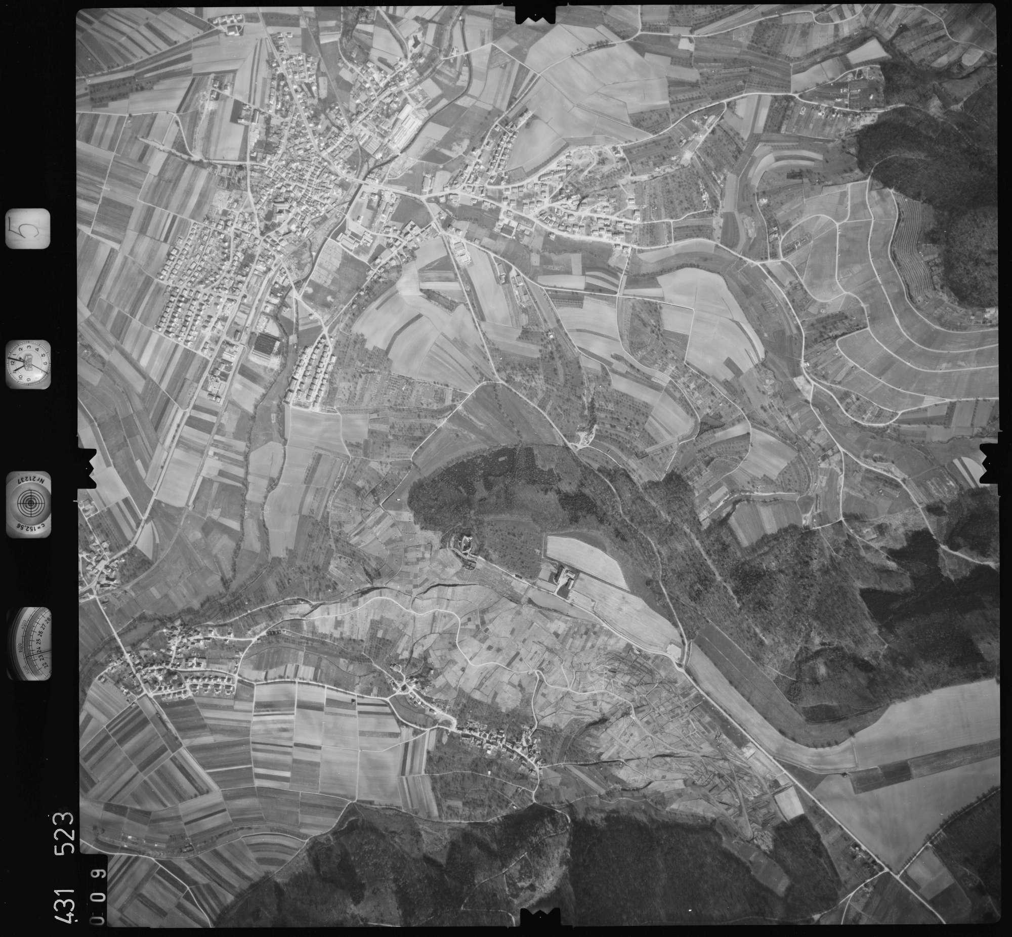 Luftbild: Film 5 Bildnr. 9, Bild 1