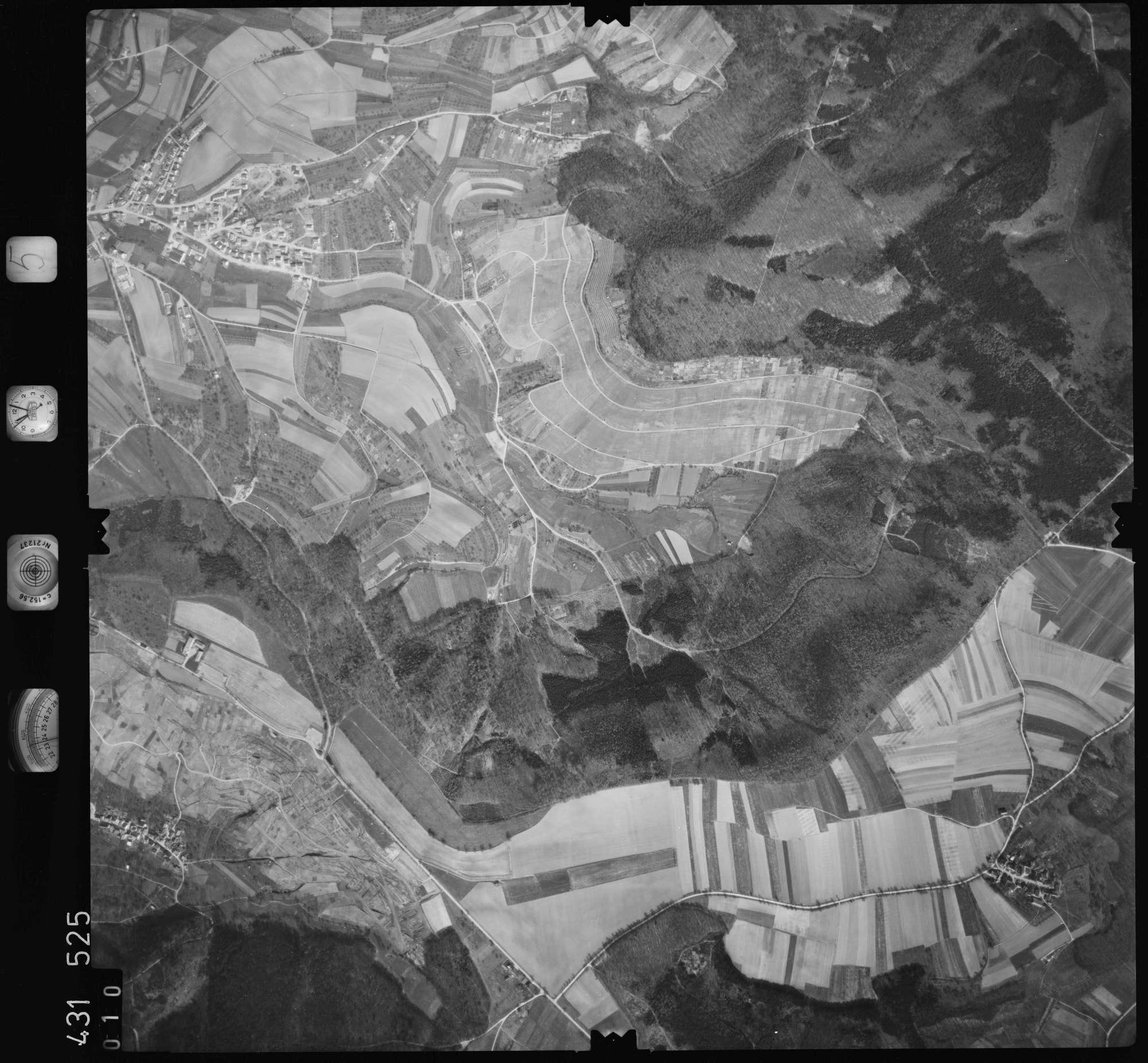 Luftbild: Film 5 Bildnr. 10, Bild 1