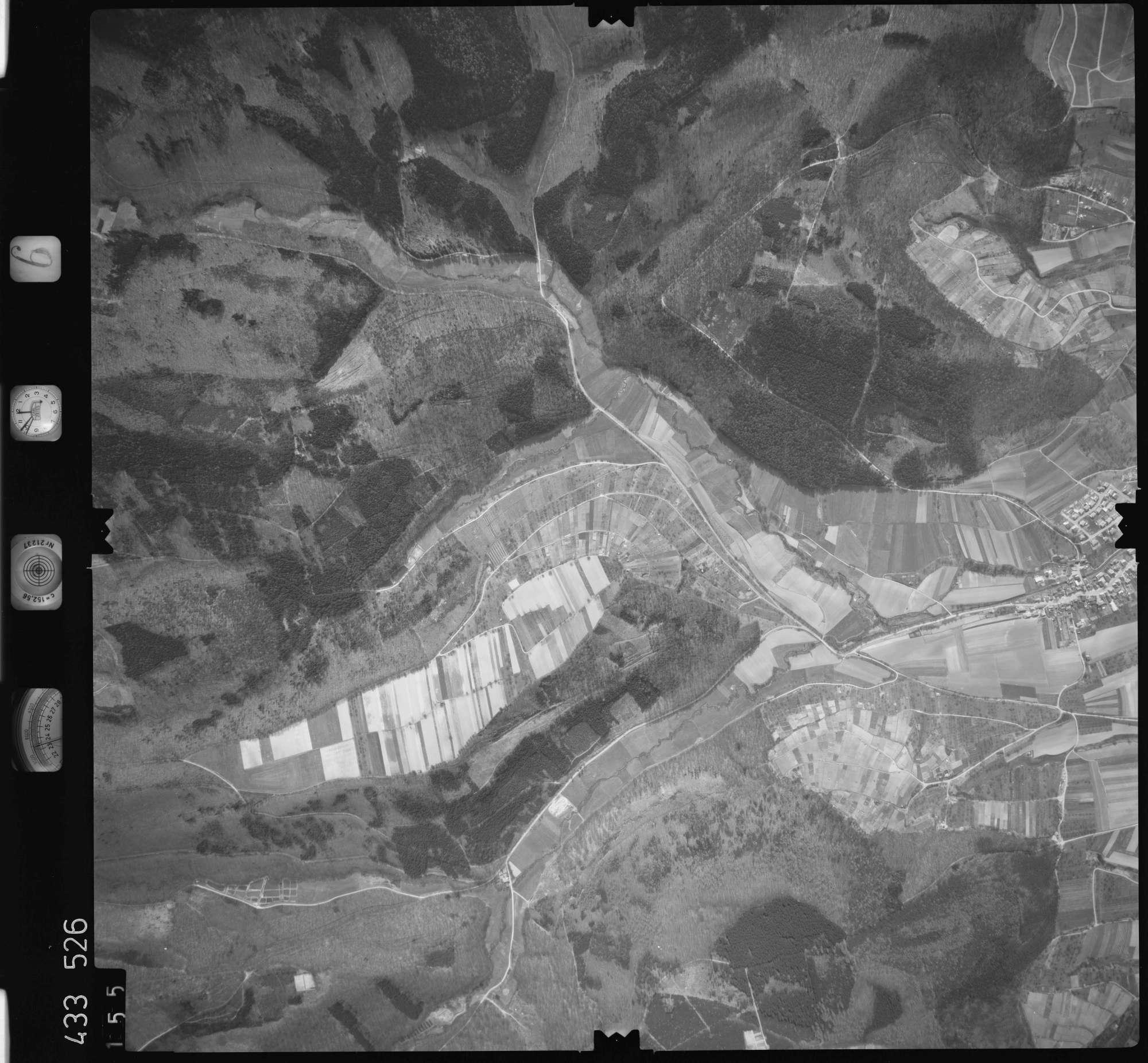 Luftbild: Film 6 Bildnr. 155, Bild 1