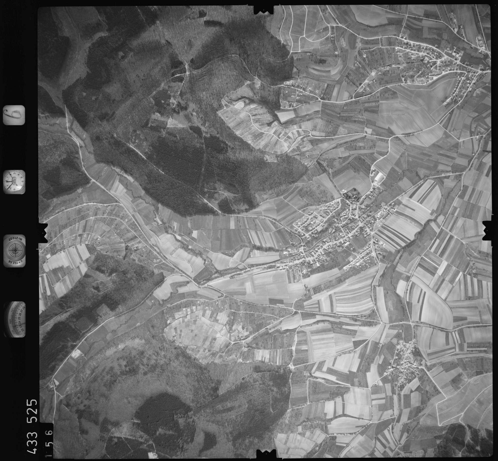 Luftbild: Film 6 Bildnr. 156, Bild 1