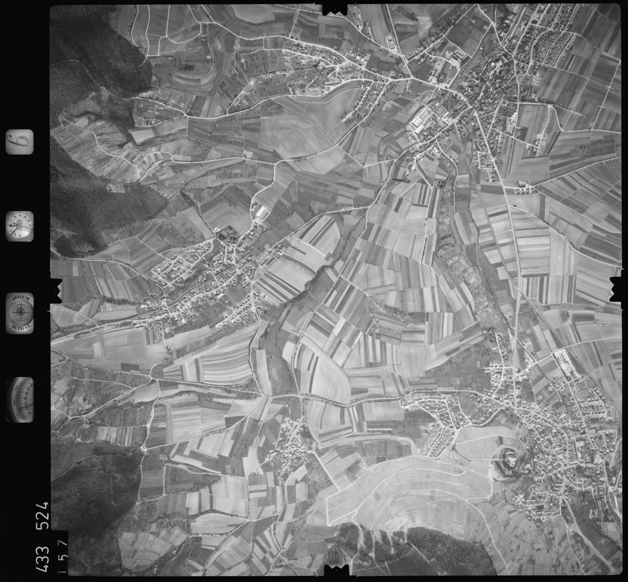Luftbild: Film 6 Bildnr. 157, Bild 1