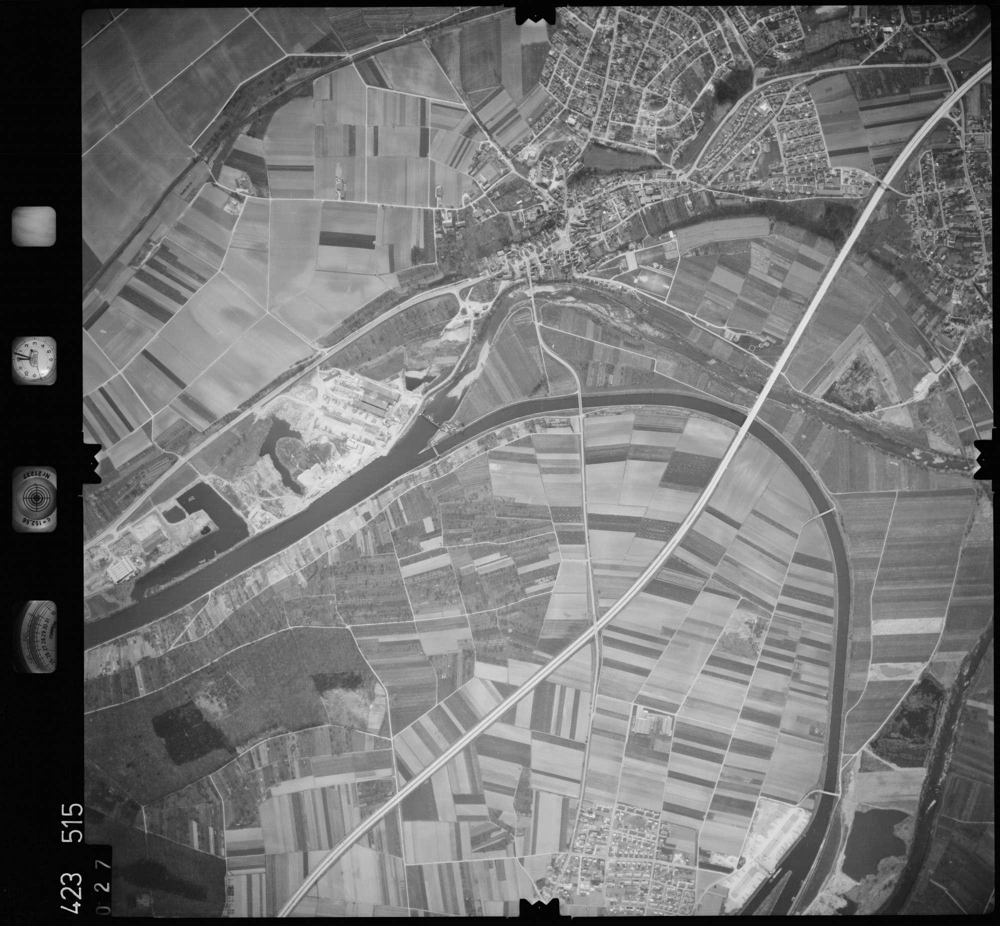 Luftbild: Film 1 Bildnr. 27, Bild 1