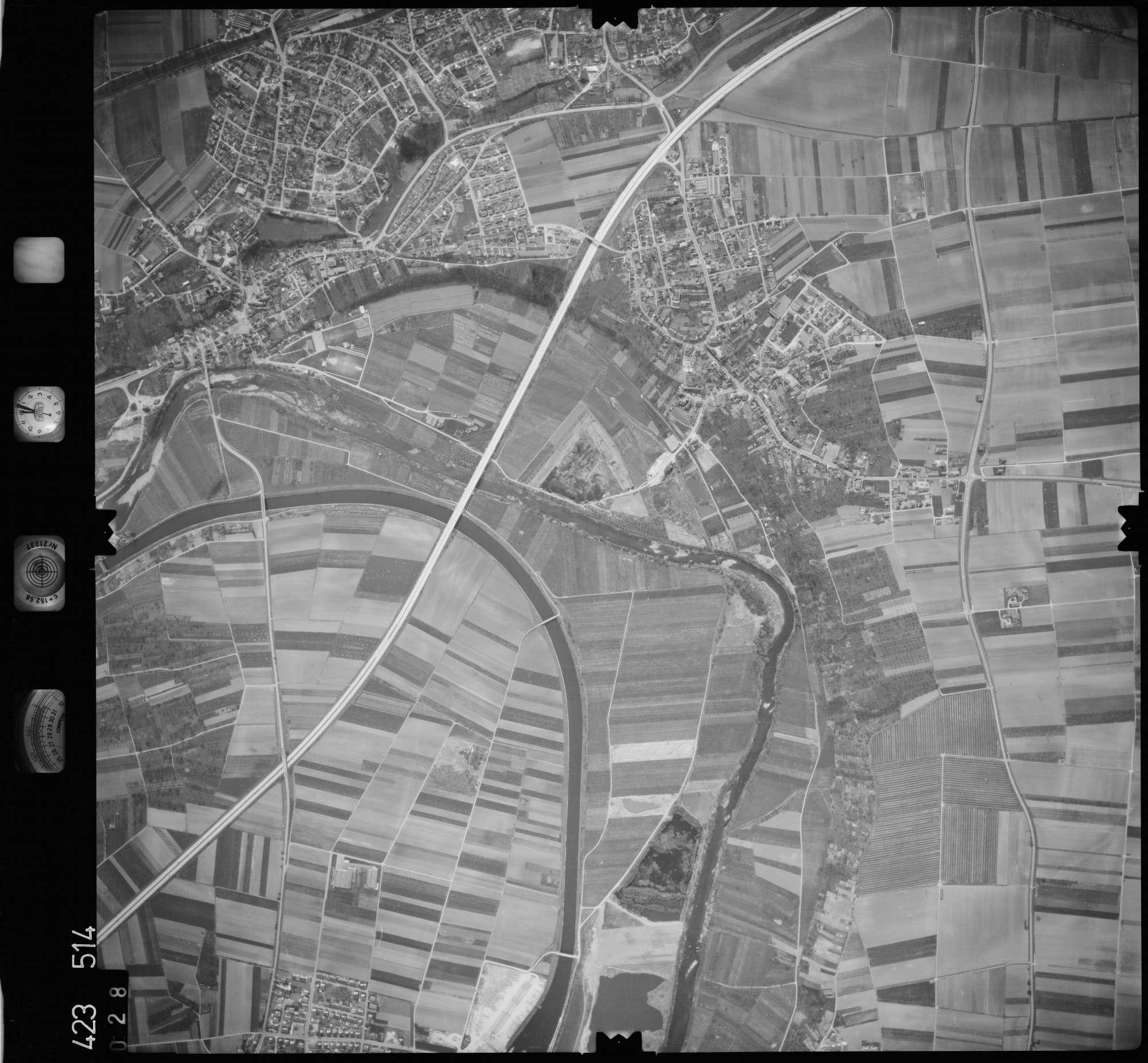 Luftbild: Film 1 Bildnr. 28, Bild 1