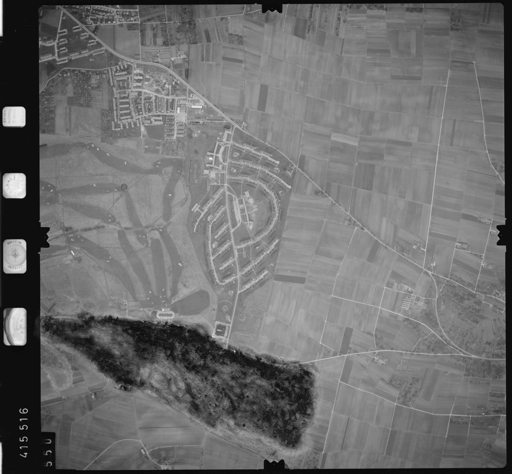 Luftbild: Film 2 Bildnr. 550, Bild 1