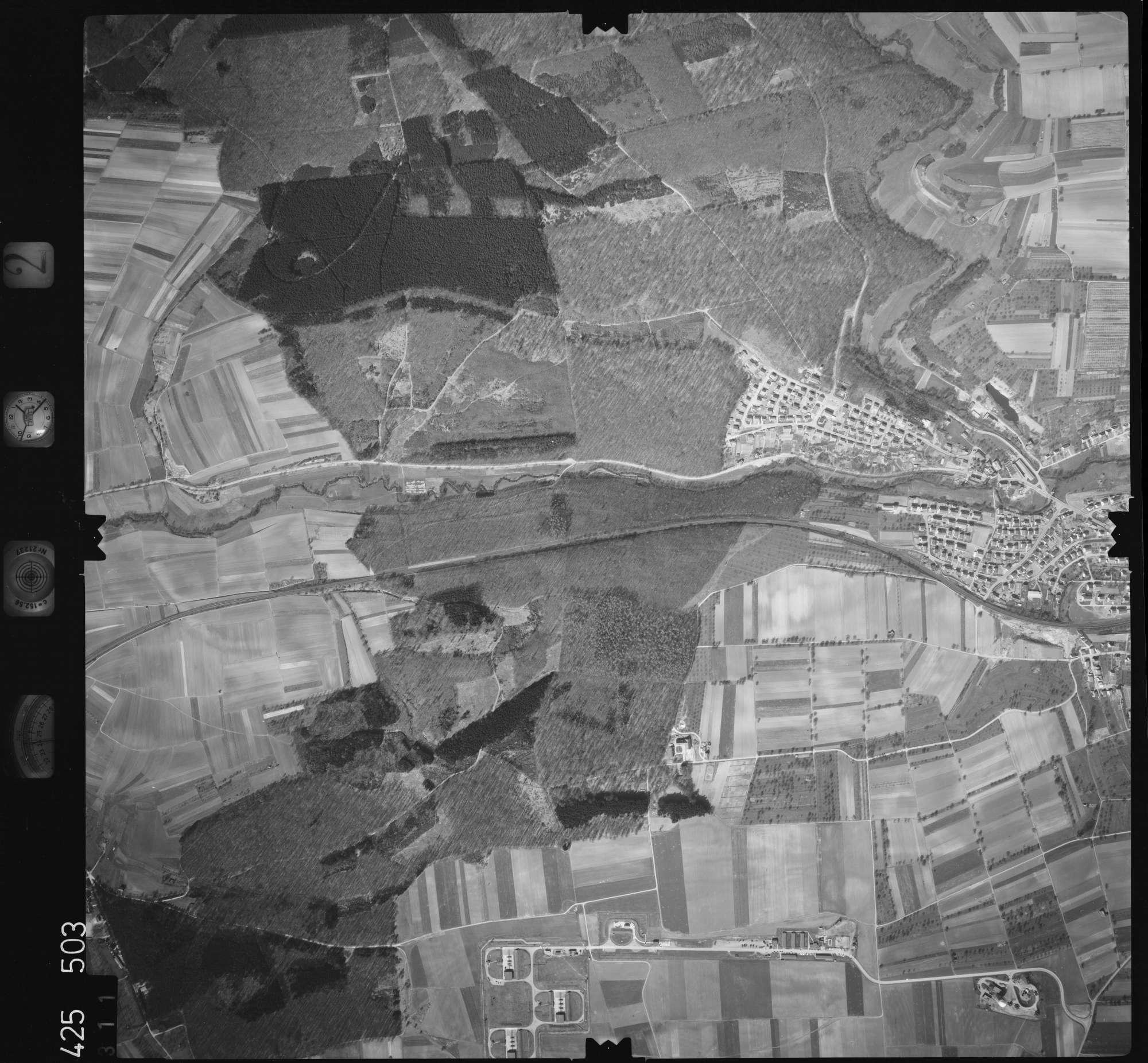Luftbild: Film 2 Bildnr. 311, Bild 1