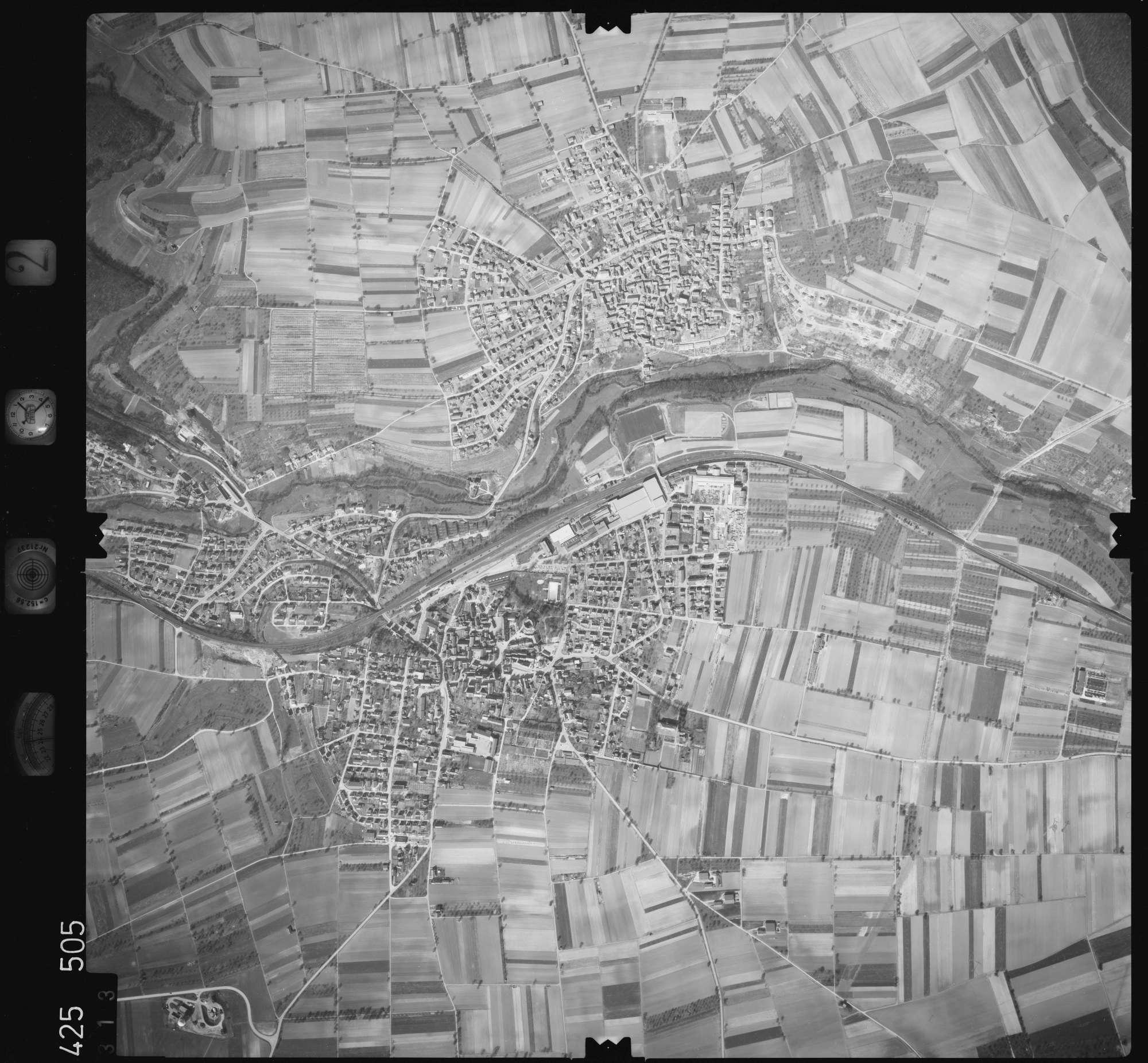 Luftbild: Film 2 Bildnr. 313, Bild 1