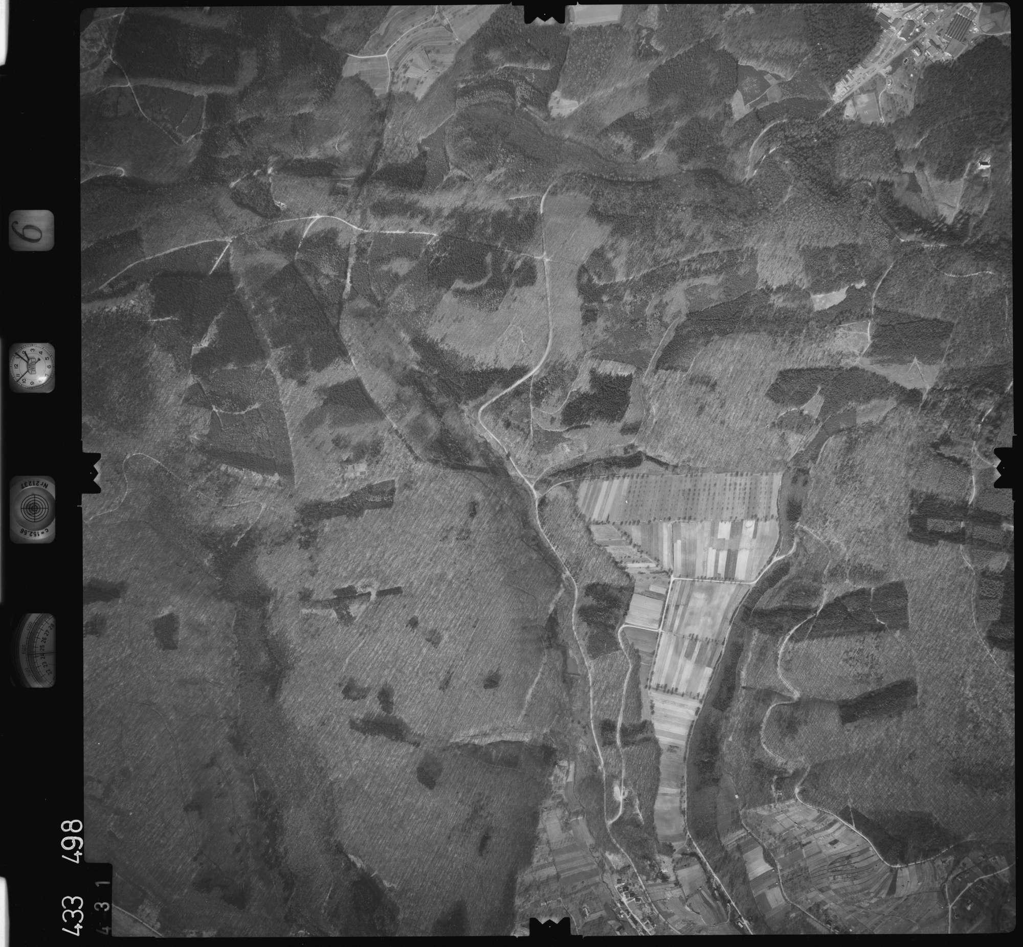 Luftbild: Film 6 Bildnr. 431, Bild 1