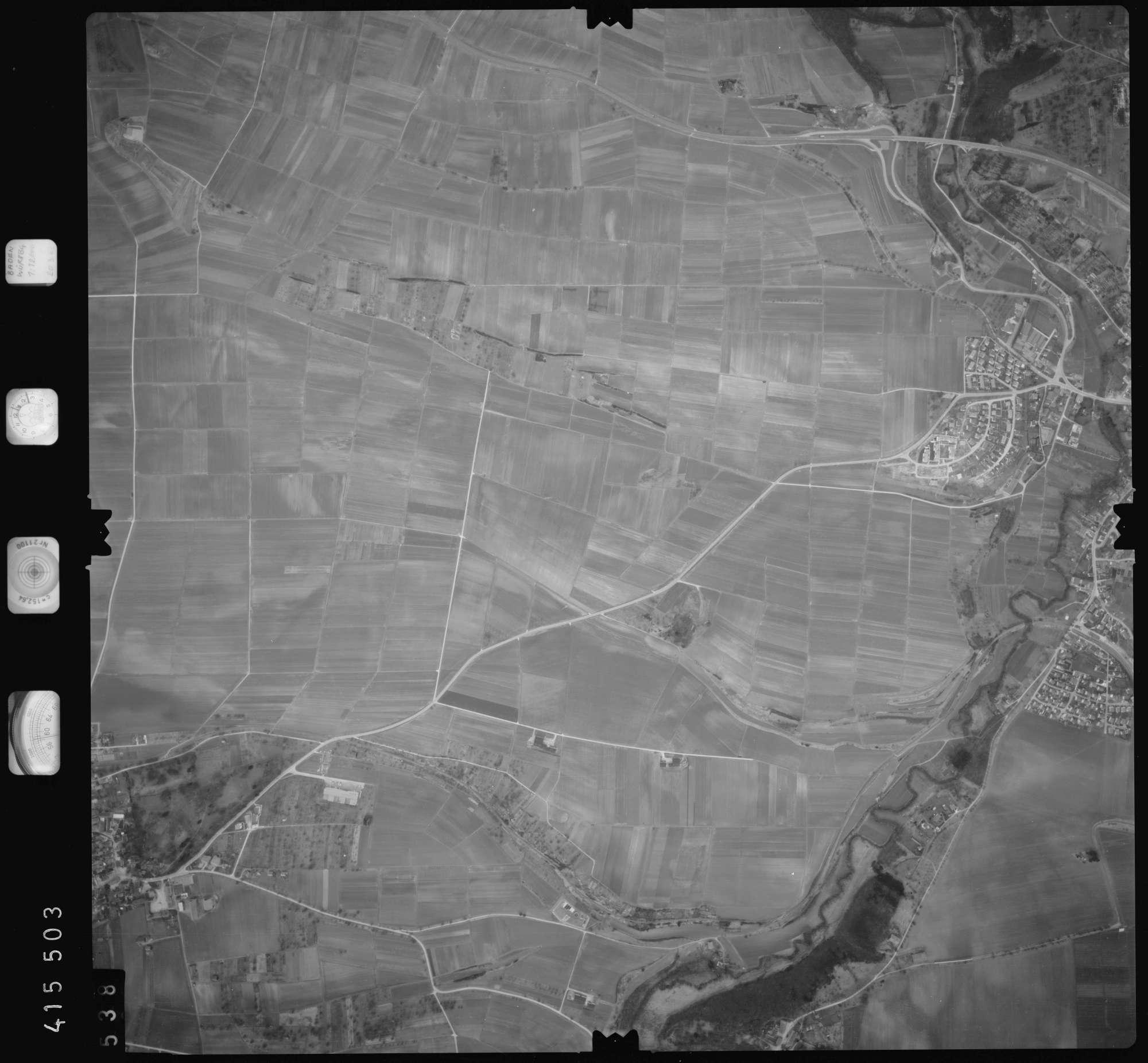 Luftbild: Film 2 Bildnr. 538, Bild 1