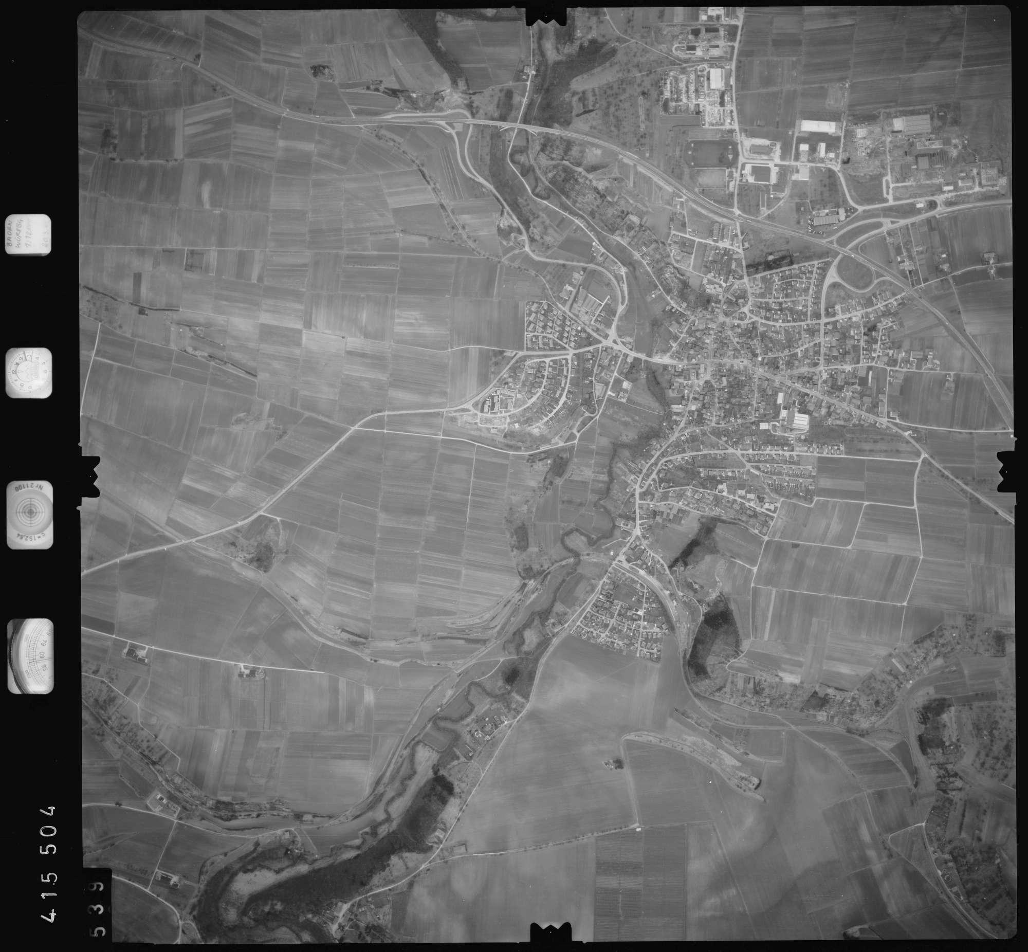 Luftbild: Film 2 Bildnr. 539, Bild 1